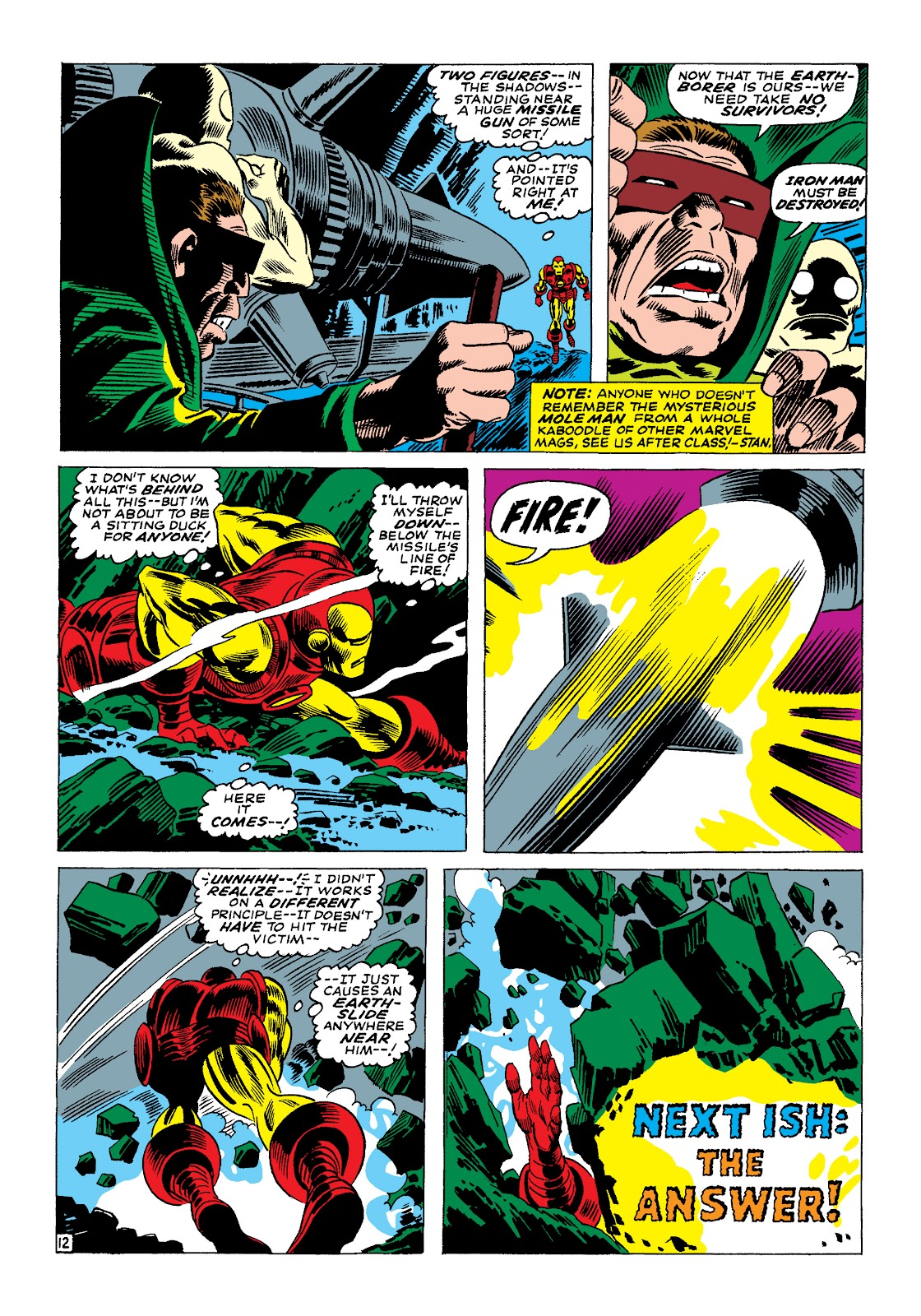Read online Marvel Masterworks: The Invincible Iron Man comic -  Issue # TPB 4 (Part 1) - 57