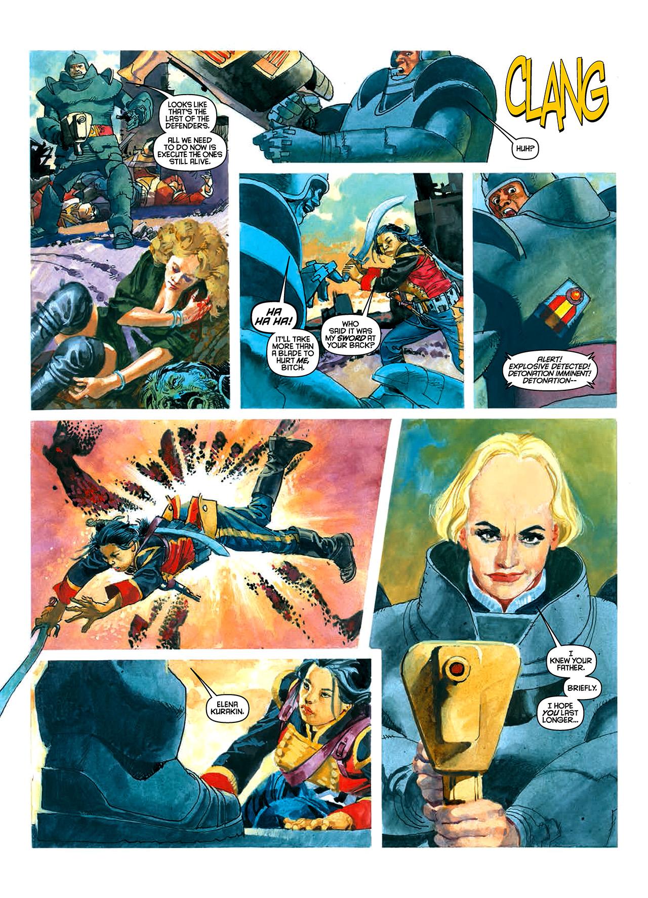 Read online Nikolai Dante comic -  Issue # TPB 10 - 42