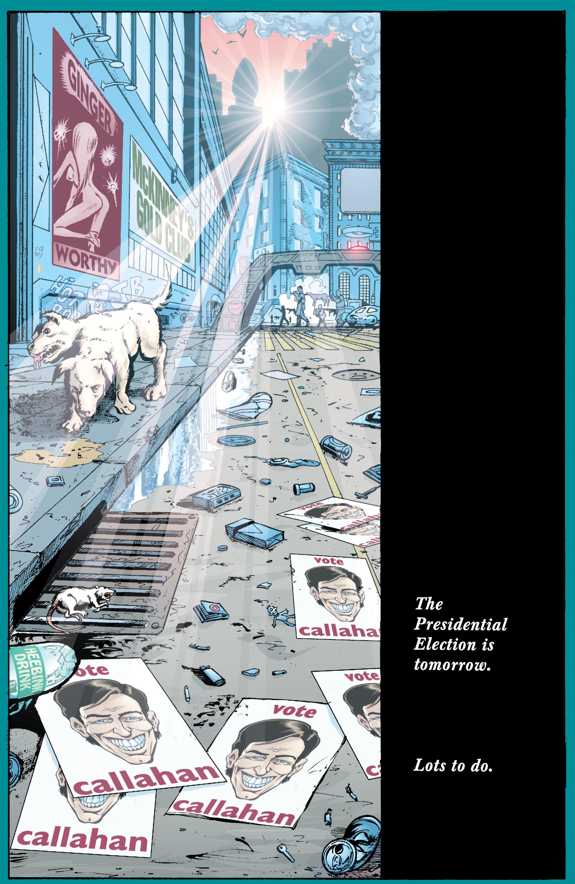 Read online Transmetropolitan comic -  Issue #23 - 23