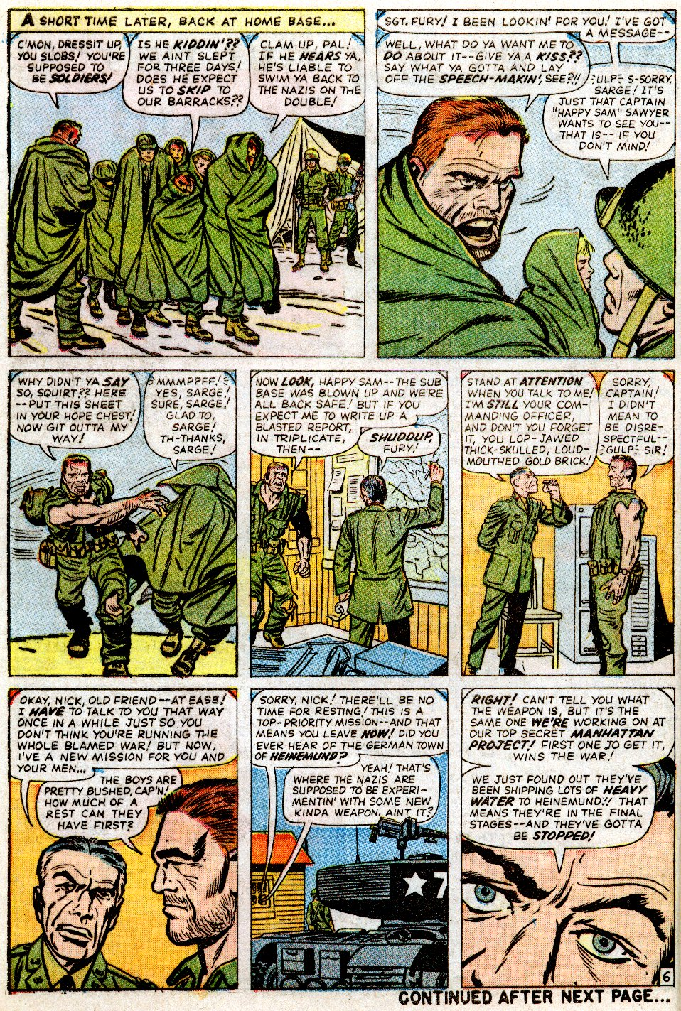 Read online Sgt. Fury comic -  Issue #2 - 8