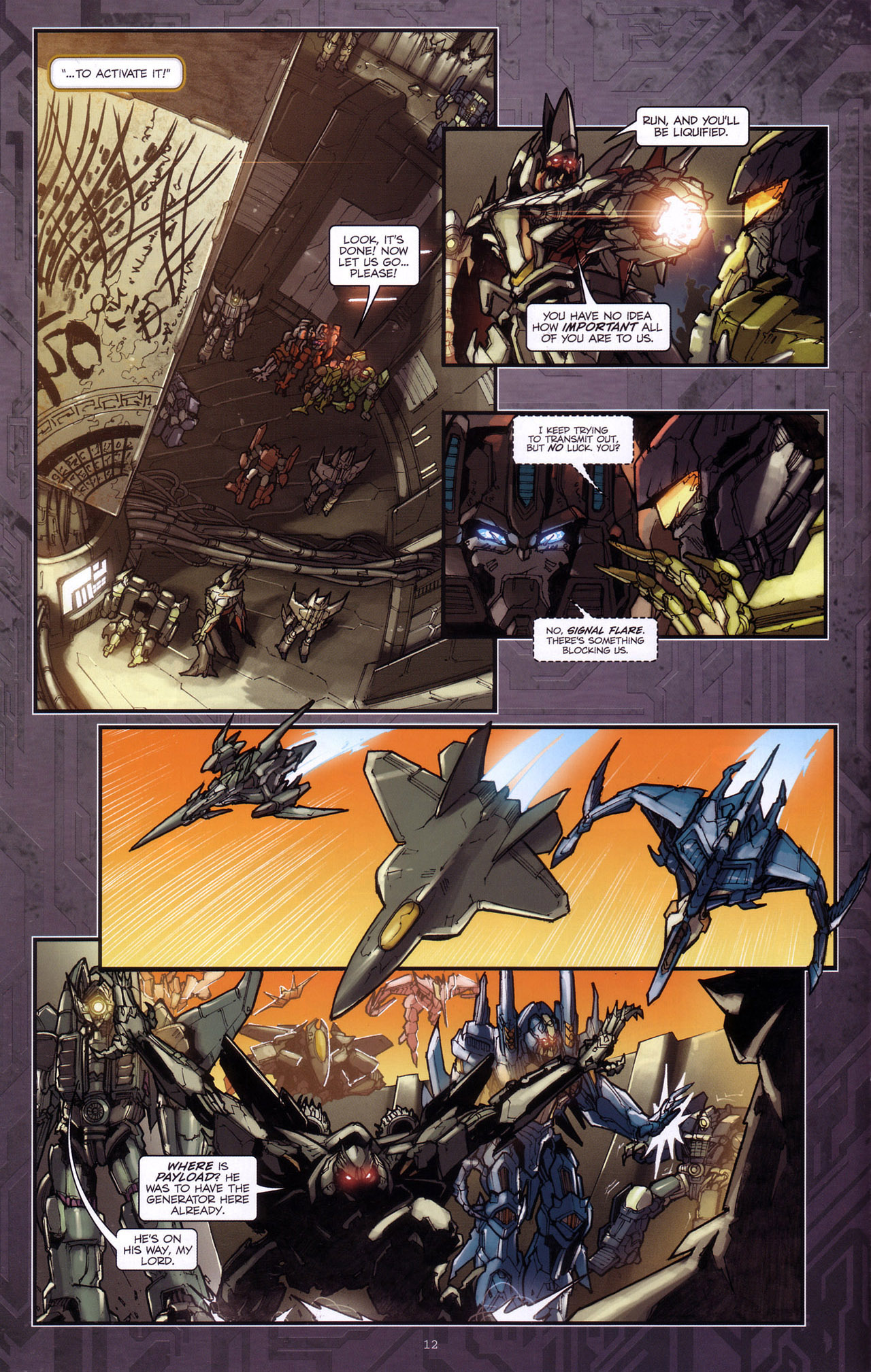 Read online Transformers: The Reign of Starscream comic -  Issue #4 - 14