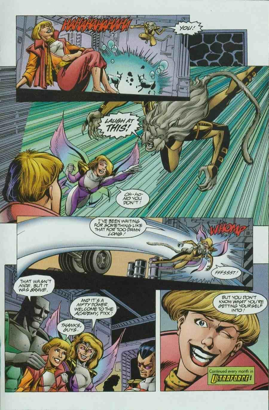 Read online Ultraverse Premiere comic -  Issue #6 - 33