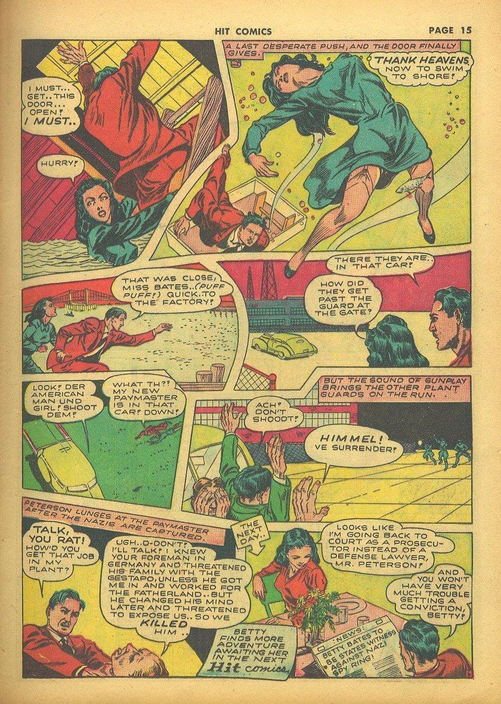 Read online Hit Comics comic -  Issue #24 - 17