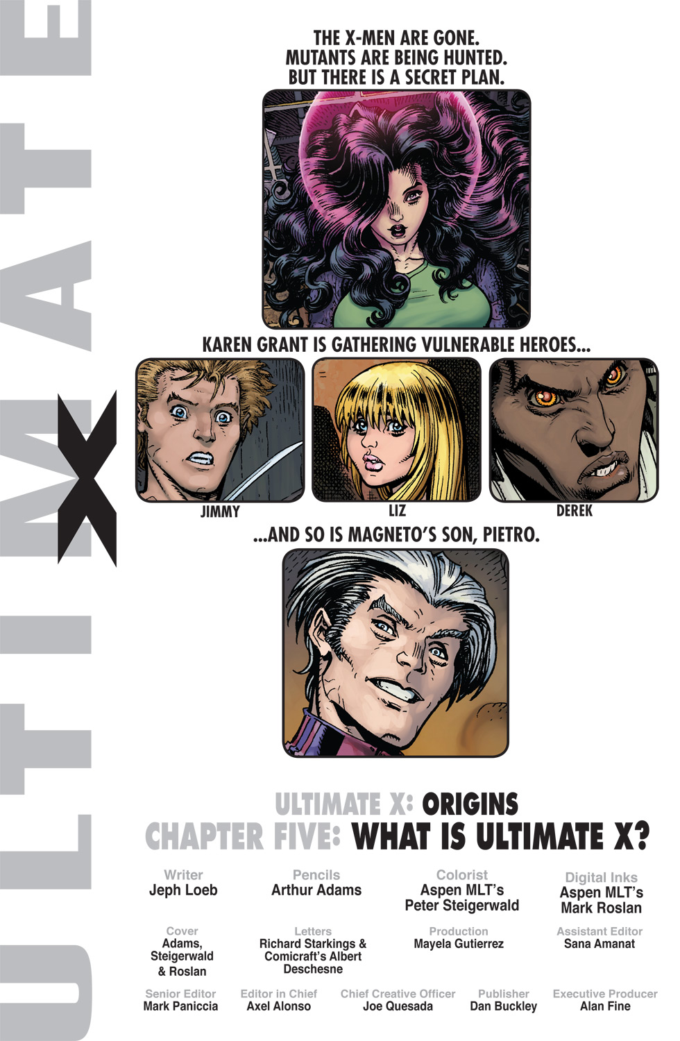 Read online Ultimate X comic -  Issue #5 - 2