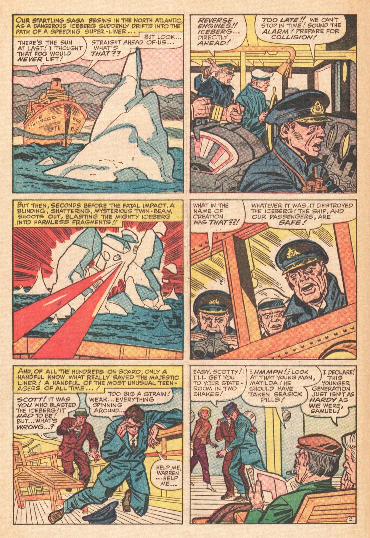 Read online Uncanny X-Men (1963) comic -  Issue # _Annual 1 - 4