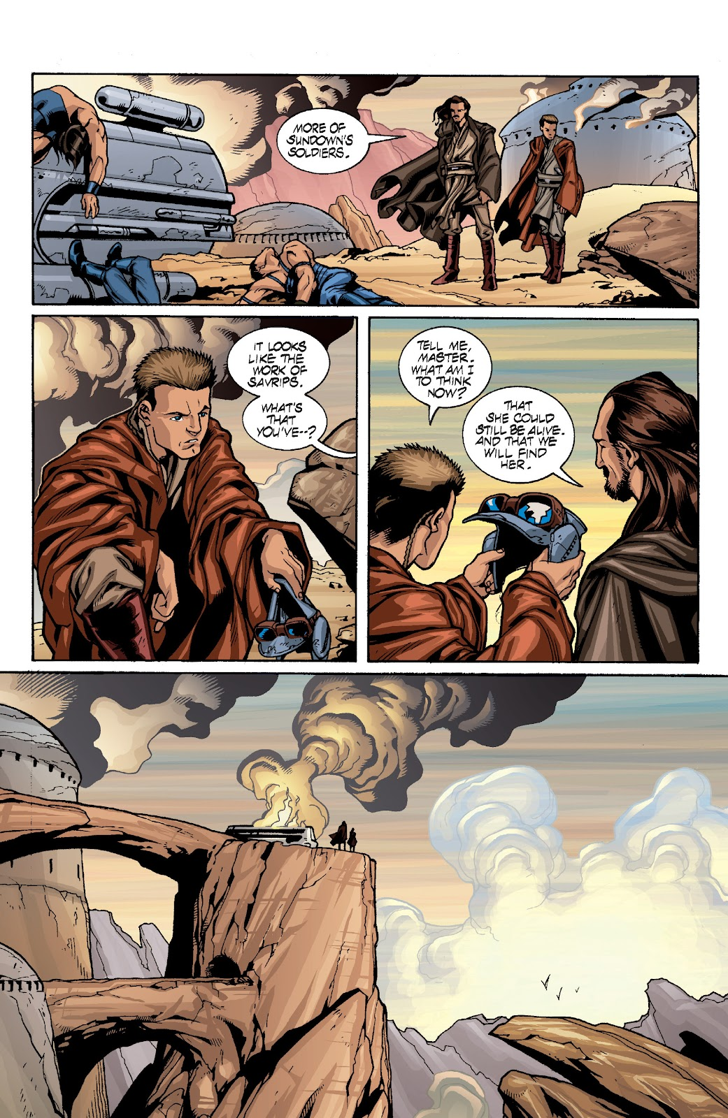Read online Star Wars Legends: Rise of the Sith - Epic Collection comic -  Issue # TPB 1 (Part 4) - 19