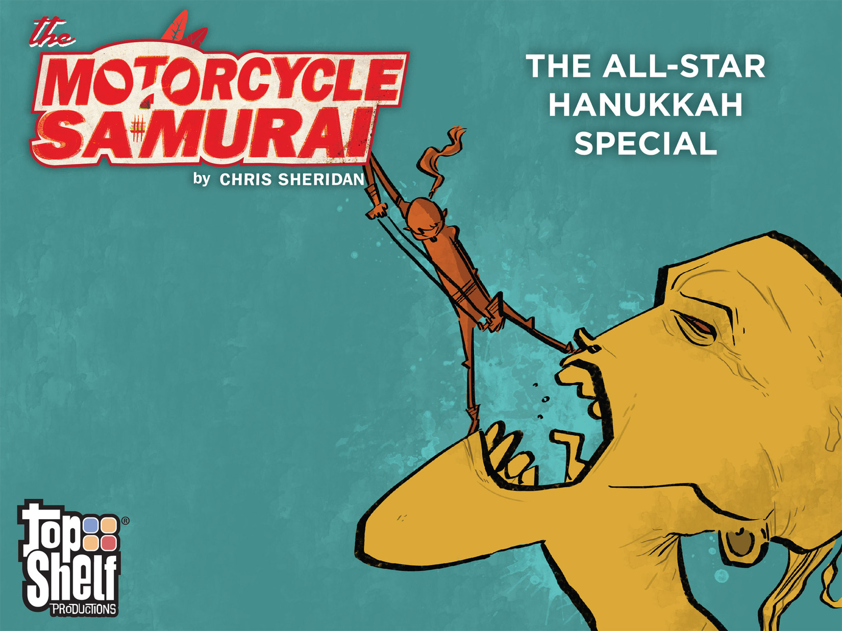 The Motorcycle Samurai: The All-Star Hanukkah Special Full Page 1