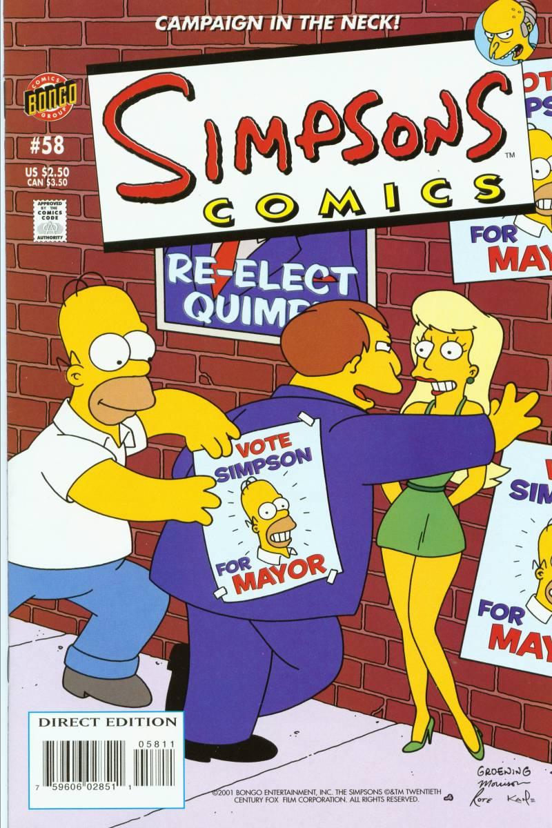 Read online Simpsons Comics comic -  Issue #58 - 1