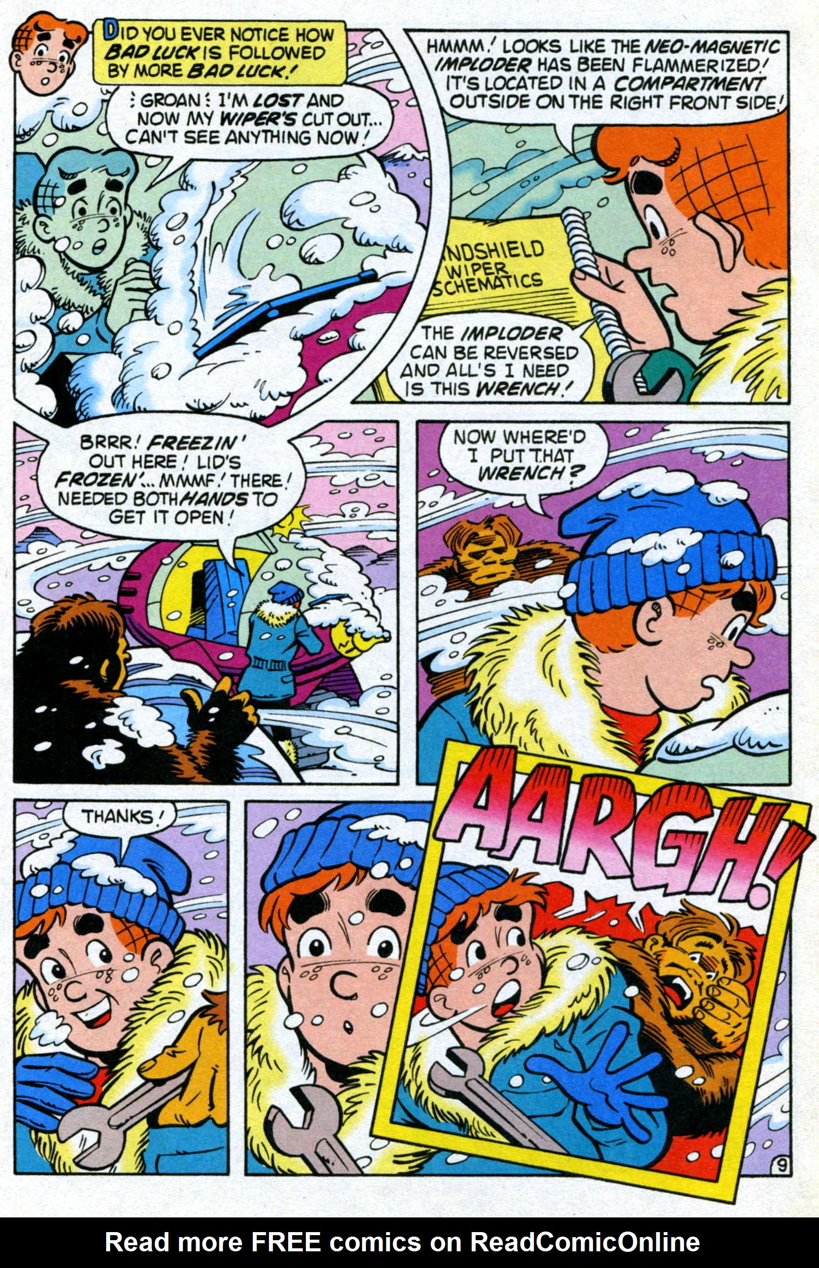 Read online World of Archie comic -  Issue #22 - 12