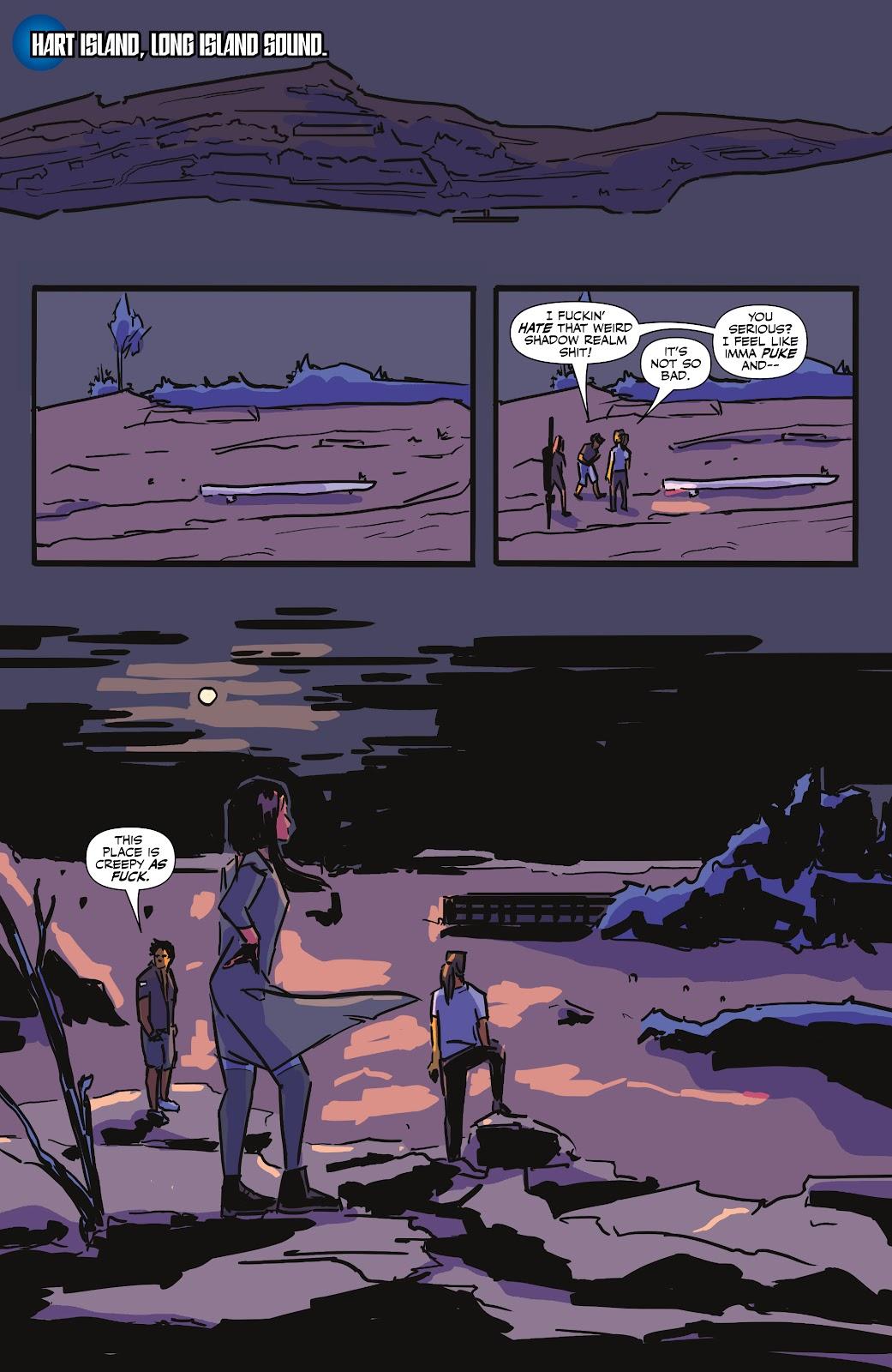 Read online Black (AF): Devil's Dye comic -  Issue #3 - 17