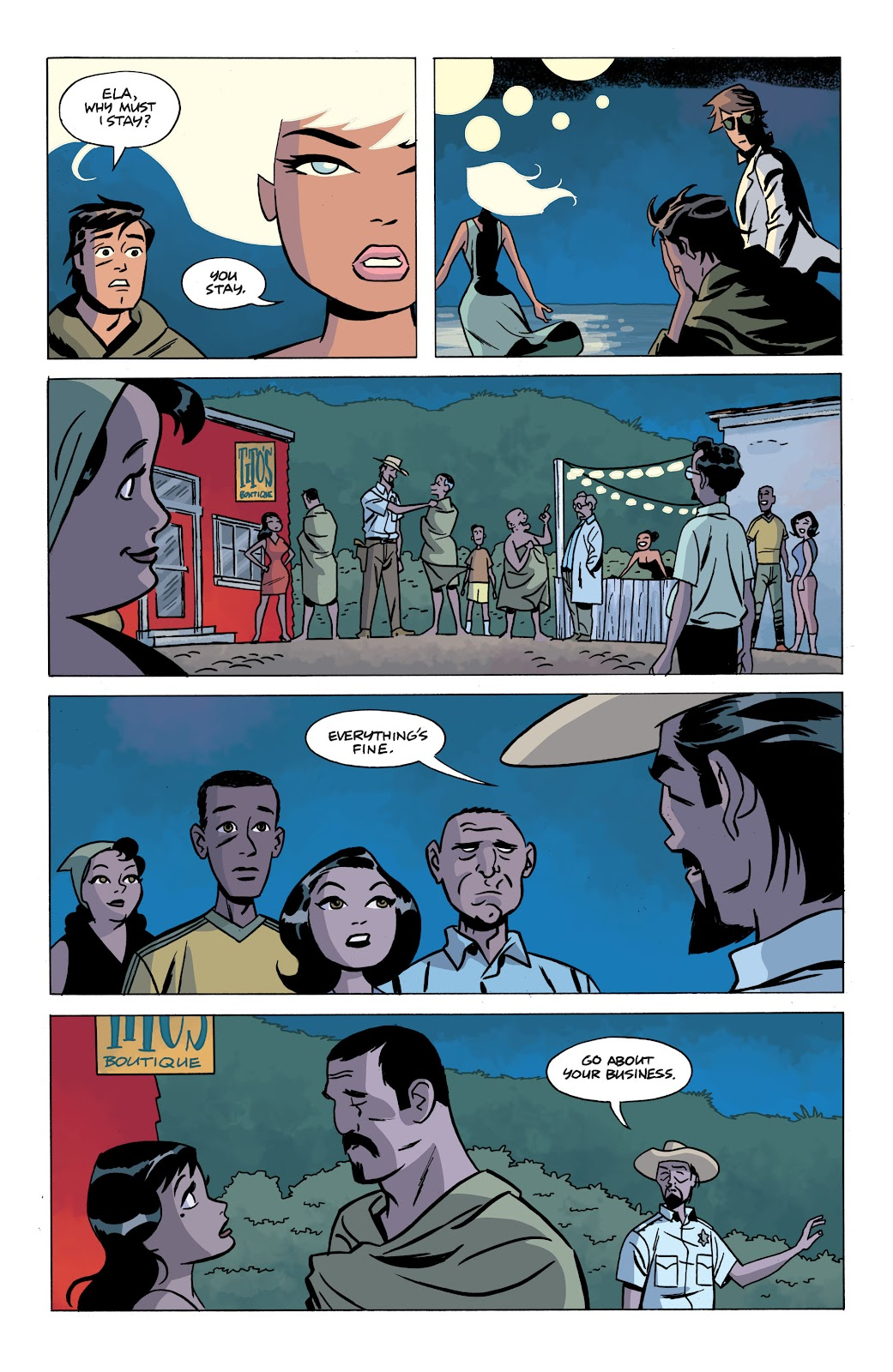 Read online The Twilight Children comic -  Issue #4 - 21