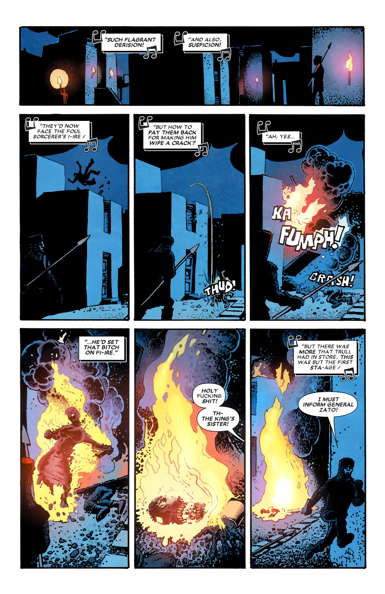 Read online Starr the Slayer comic -  Issue #3 - 8