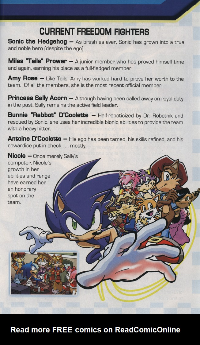 Read online Sonic the Hedgehog Free Comic Book Day Edition comic -  Issue # Special 5 - 29