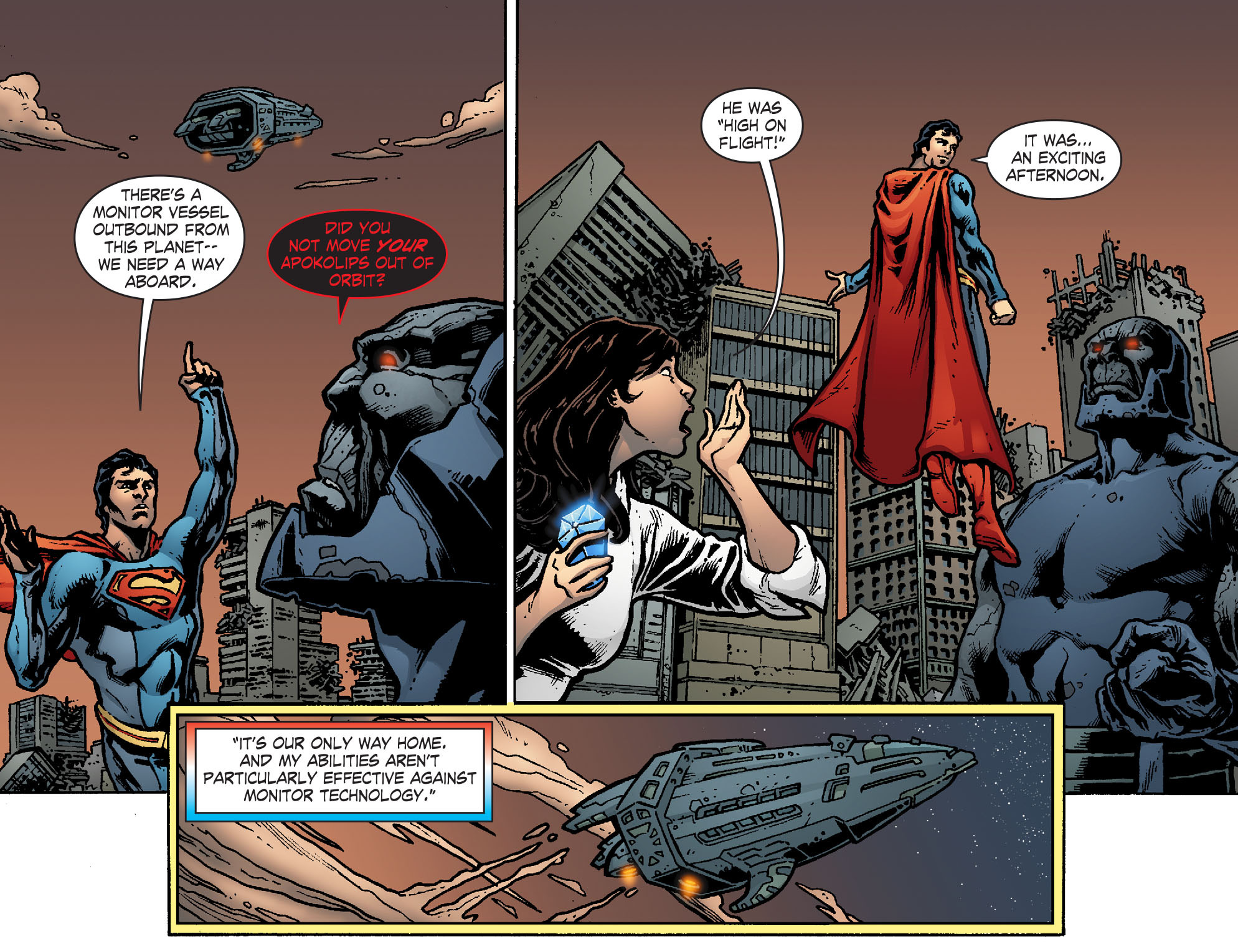 Read online Smallville: Chaos [II] comic -  Issue #8 - 15