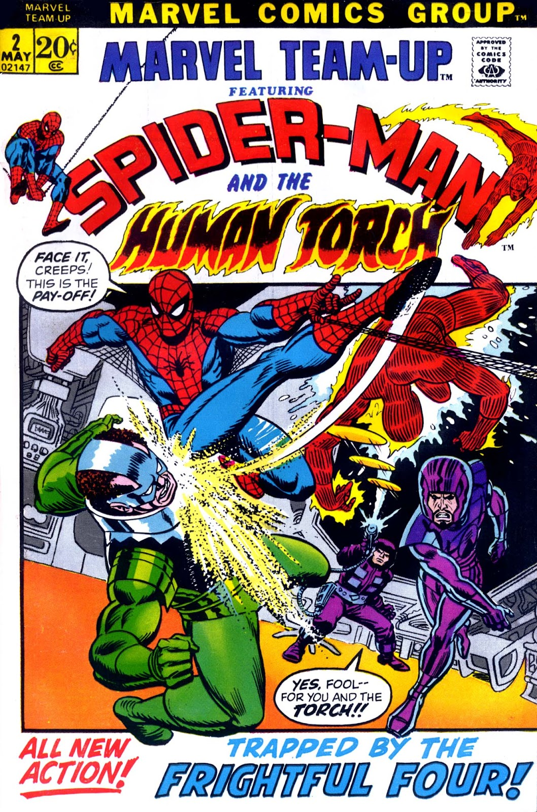 Marvel Team-Up (1972) issue 2 - Page 1