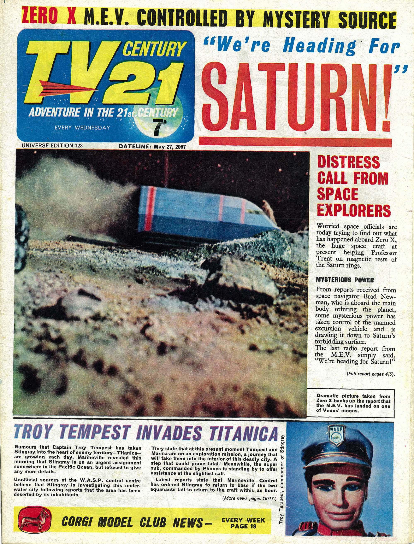 TV Century 21 (TV 21) 123 Page 1
