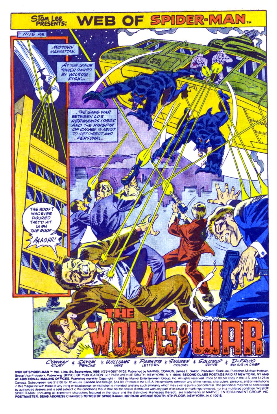 Web of Spider-Man (1985) Issue #54 #64 - English 2