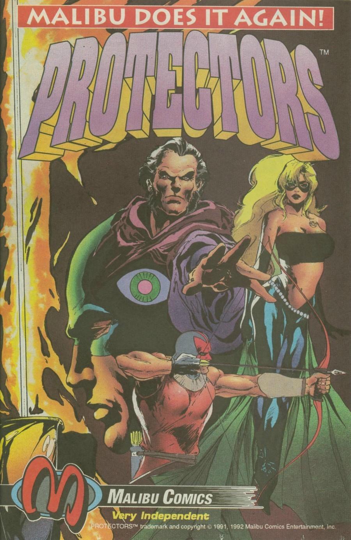Read online Ex-Mutants comic -  Issue #4 - 22