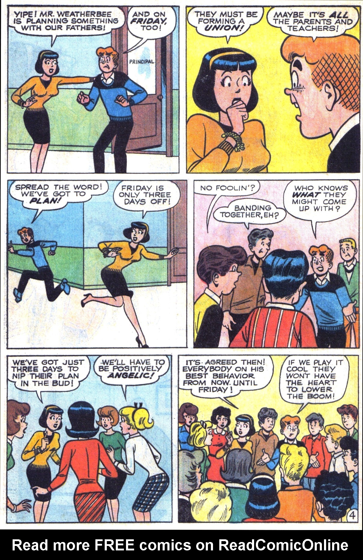 Read online Archie (1960) comic -  Issue #153 - 16