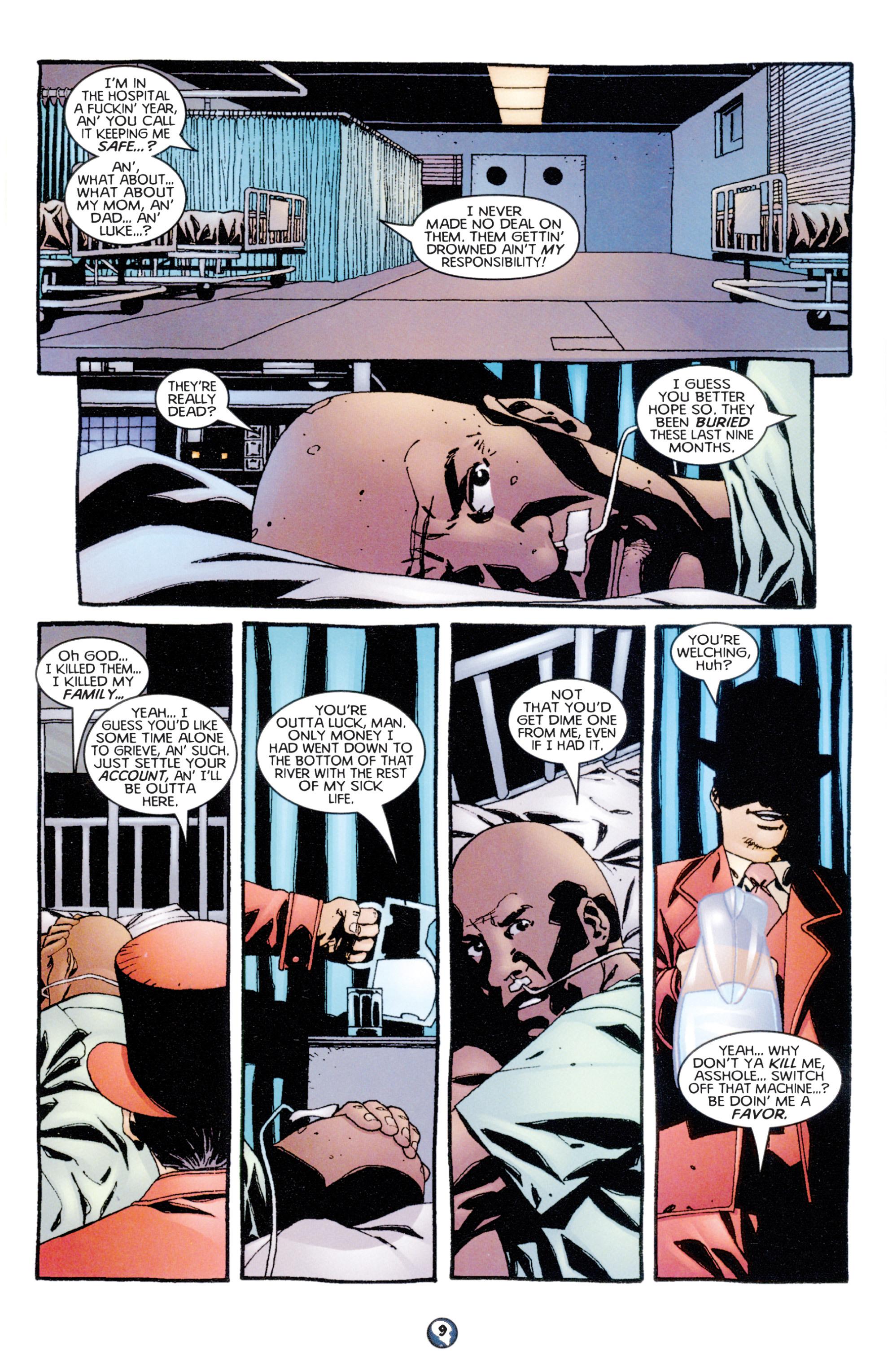 Read online Shadowman (1997) comic -  Issue #7 - 8