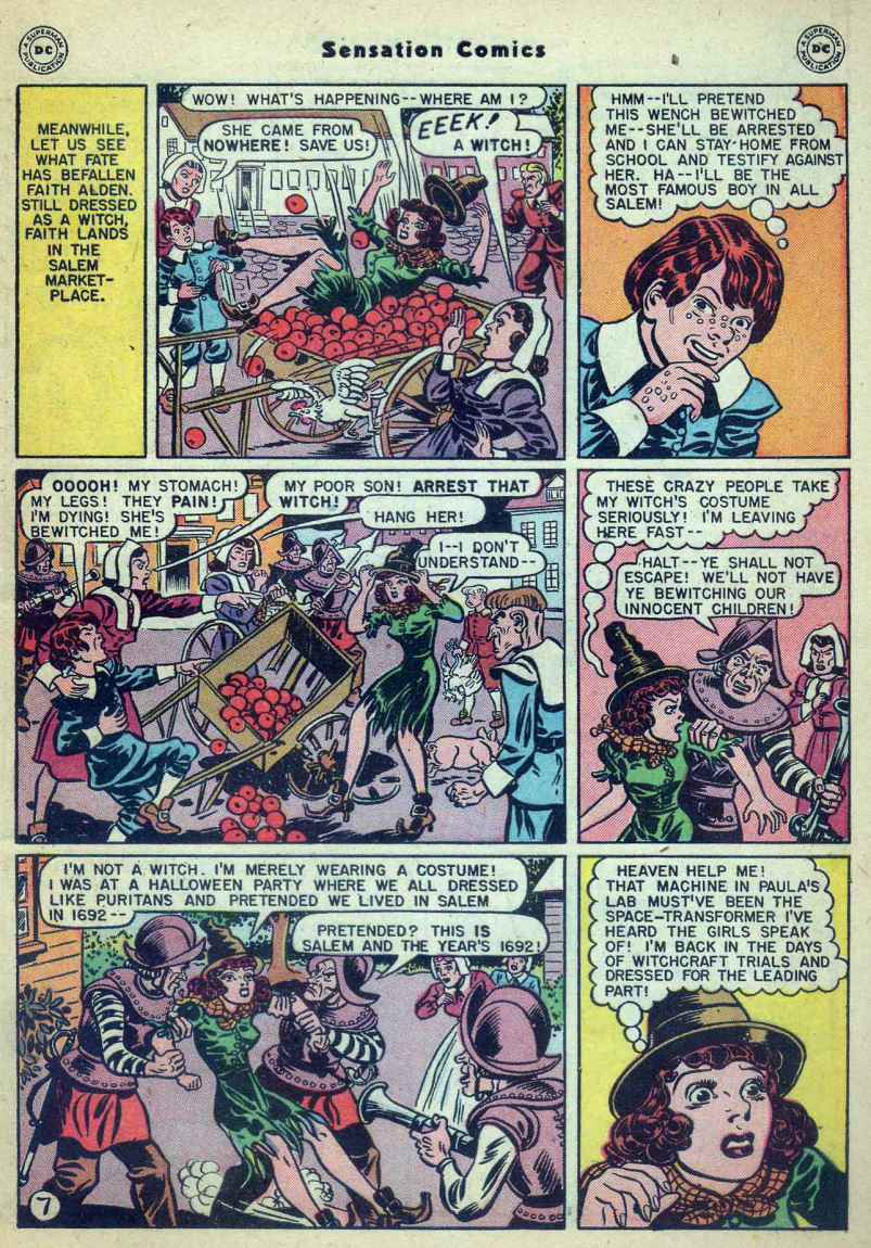 Read online Sensation (Mystery) Comics comic -  Issue #73 - 9