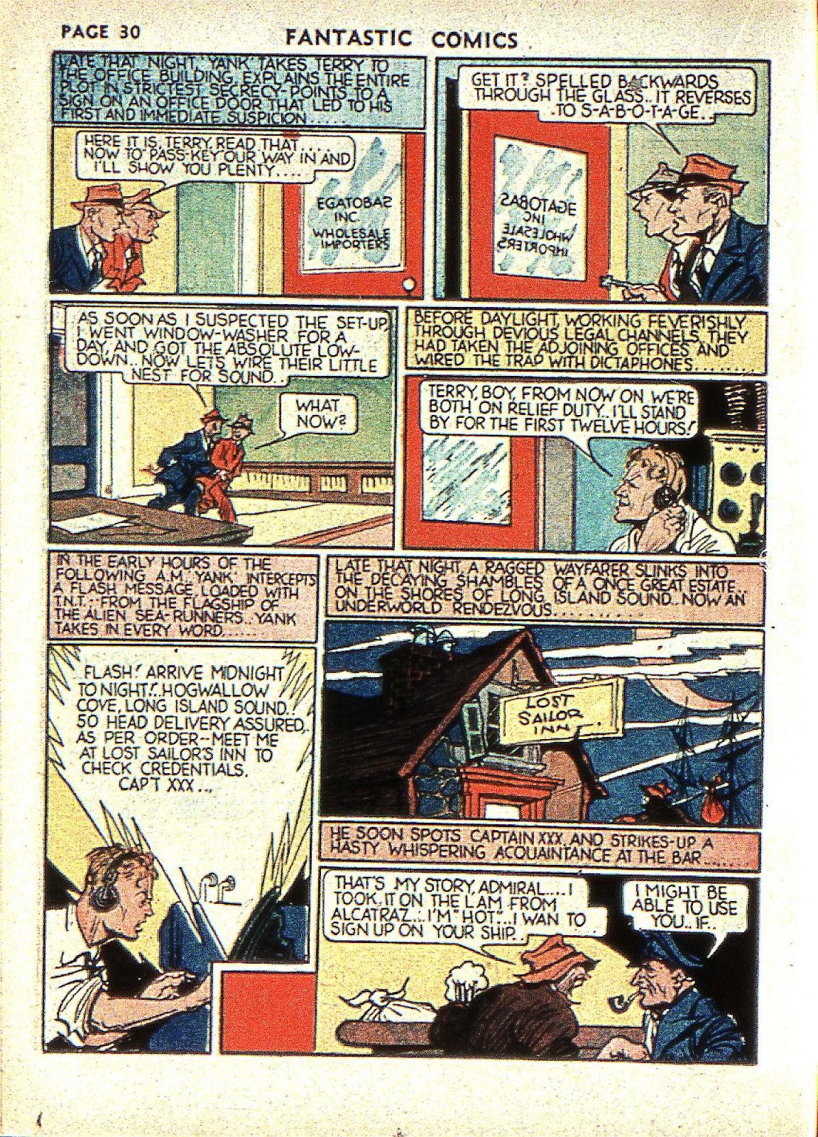 Read online Fantastic Comics comic -  Issue #2 - 32