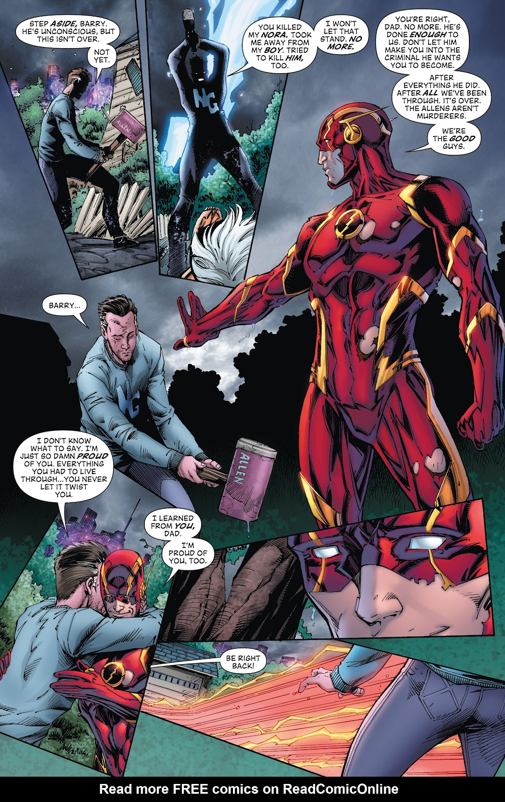 Read online The Flash (2011) comic -  Issue # _TPB 8 (Part 2) - 105