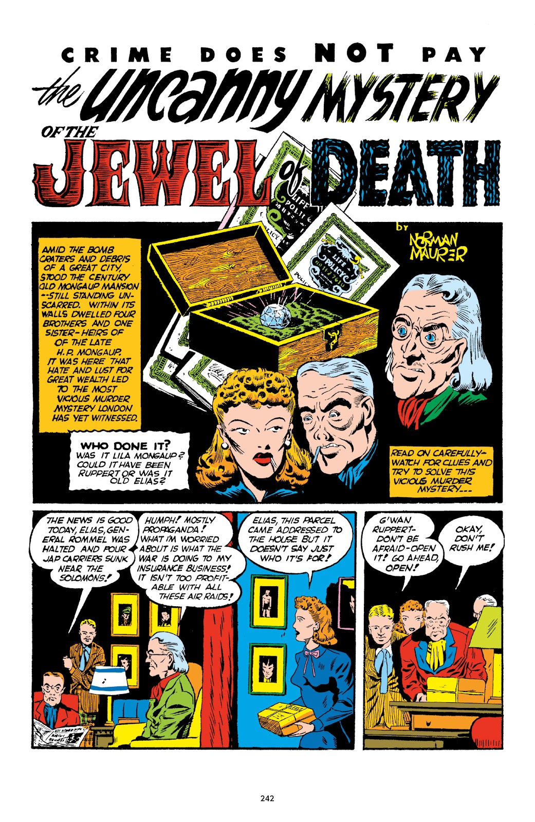 Read online Crime Does Not Pay Archives comic -  Issue # TPB 1 (Part 3) - 45