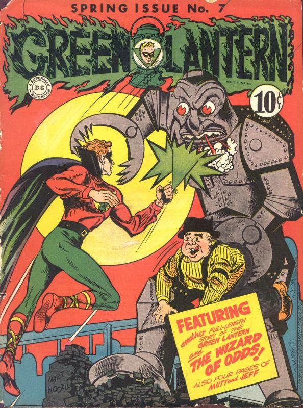Green Lantern (1941) issue 7 - Page 1
