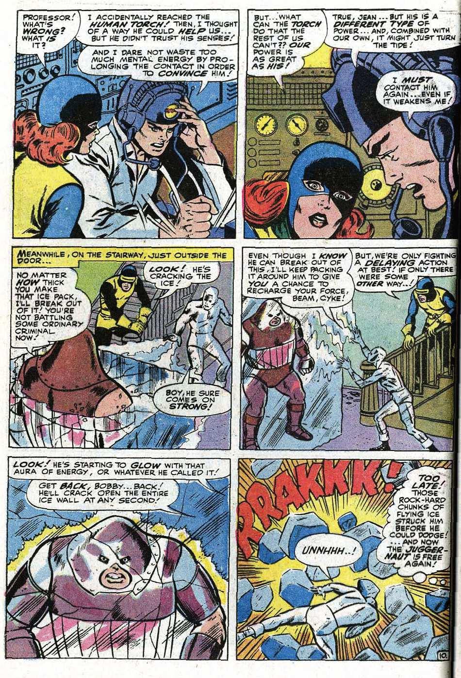 Read online Uncanny X-Men (1963) comic -  Issue #67 - 36