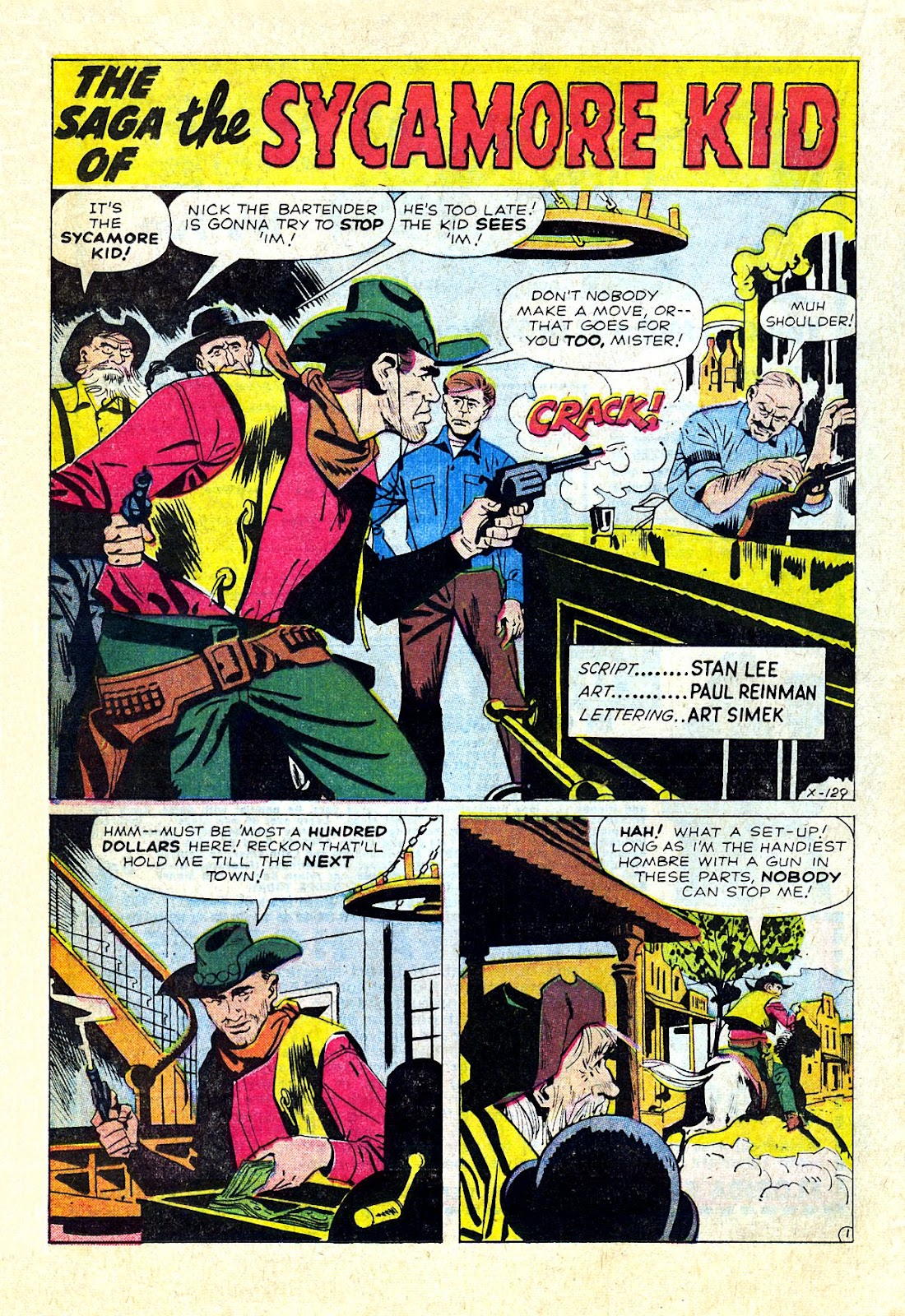 Gunsmoke Western issue 75 - Page 20