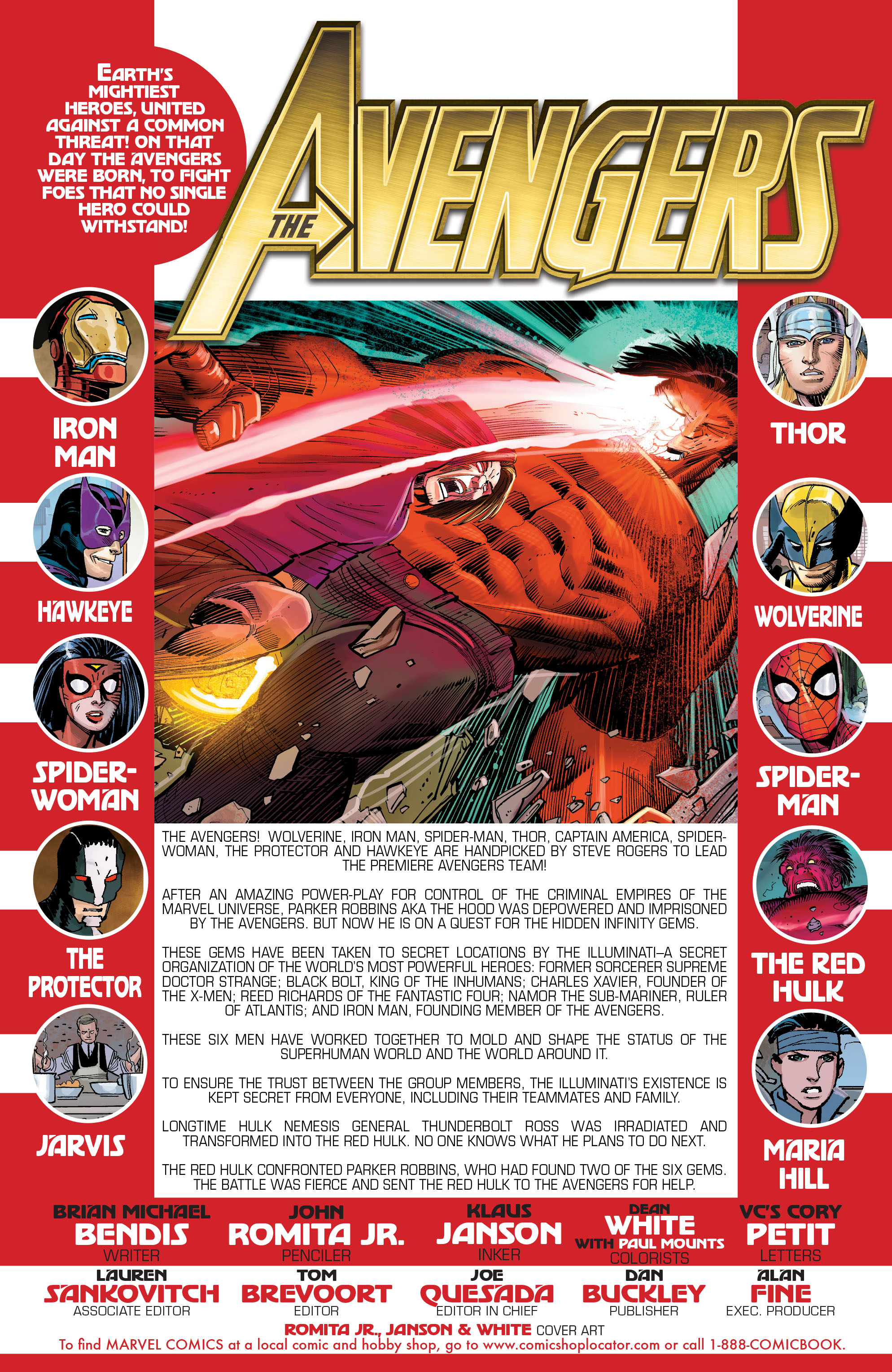 Read online Avengers (2010) comic -  Issue #8 - 2