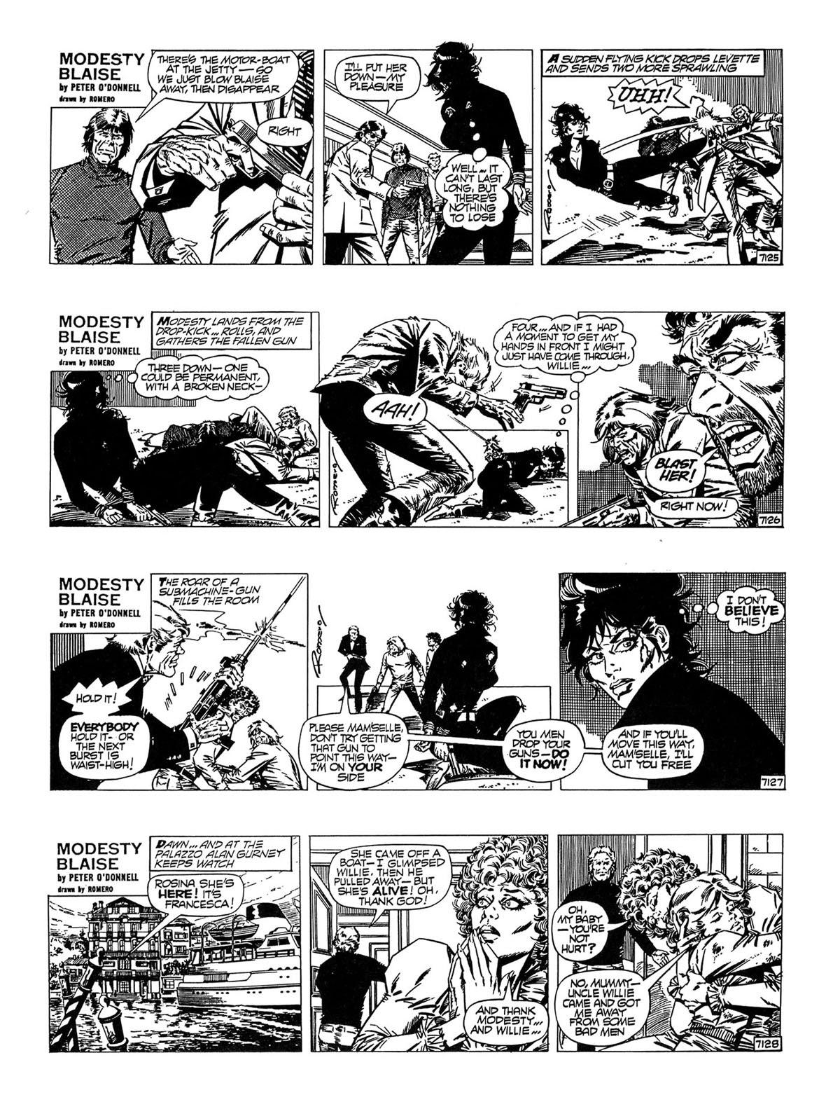 Read online Modesty Blaise Live bait comic -  Issue # TPB - 29