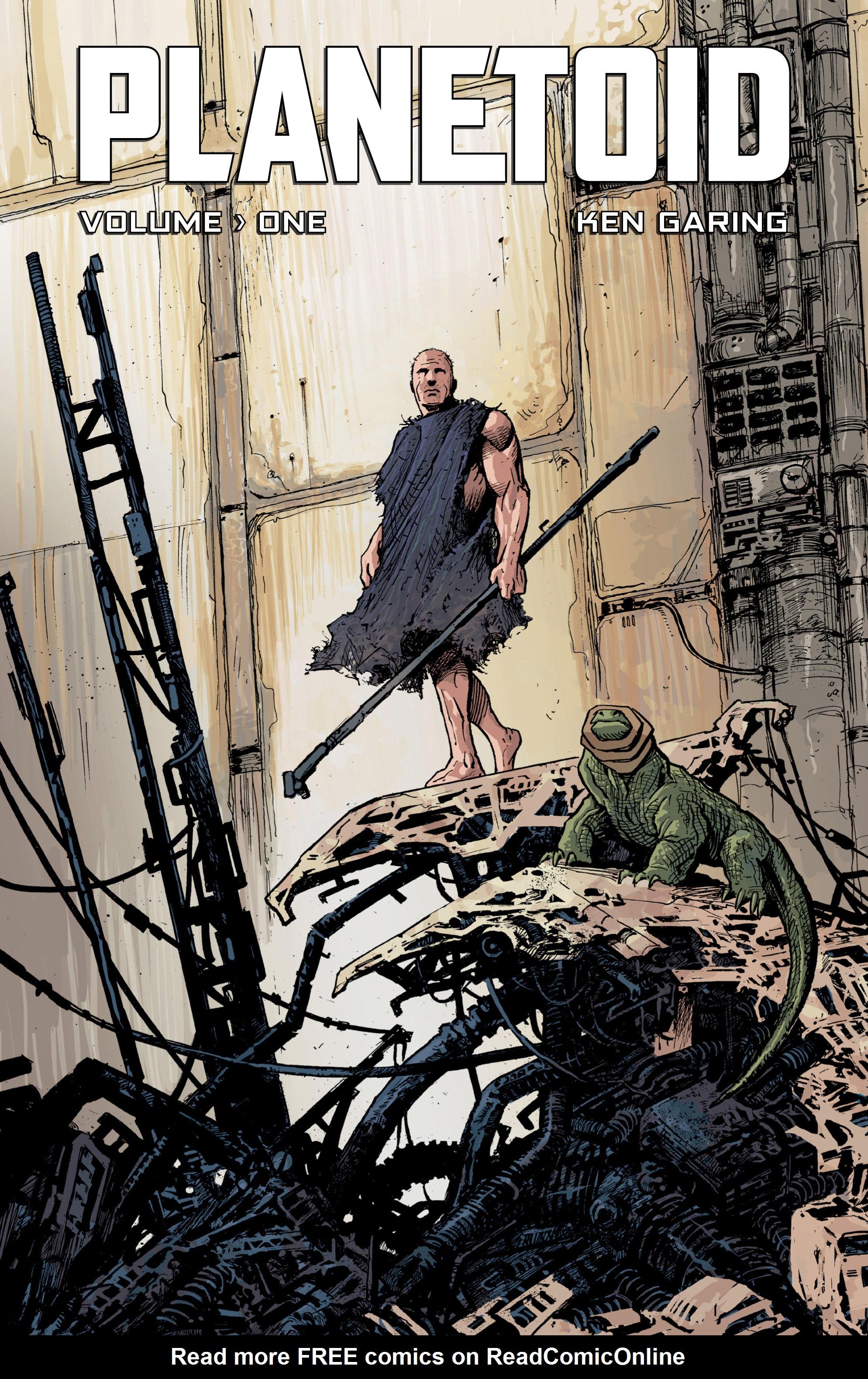 Read online Planetoid comic -  Issue # TPB - 1