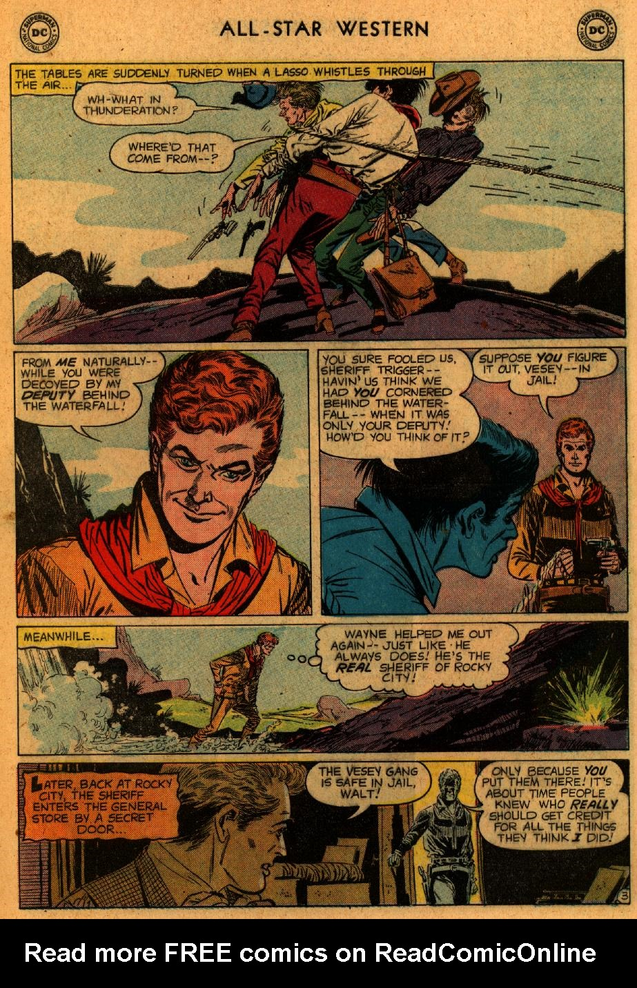 Read online All-Star Western (1951) comic -  Issue #102 - 5