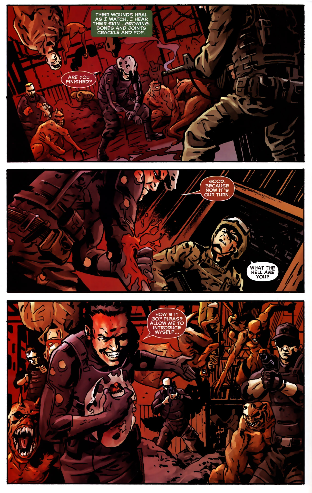 Read online Dead of Night Featuring Devil-Slayer comic -  Issue #2 - 5