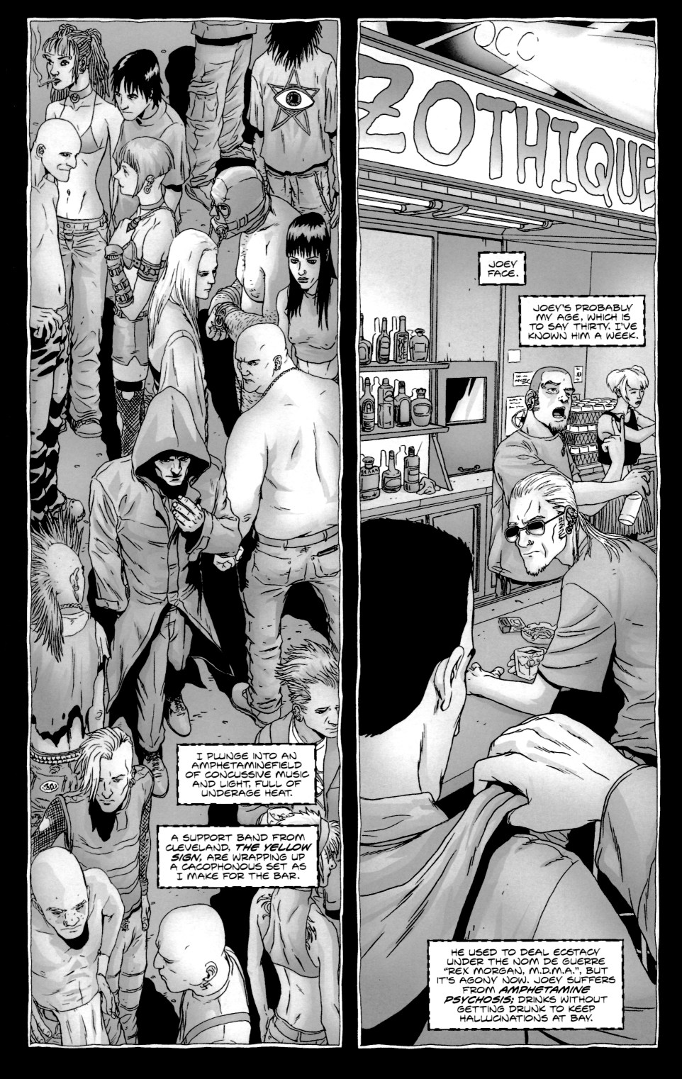 Read online Alan Moore's The Courtyard comic -  Issue #1 - 16