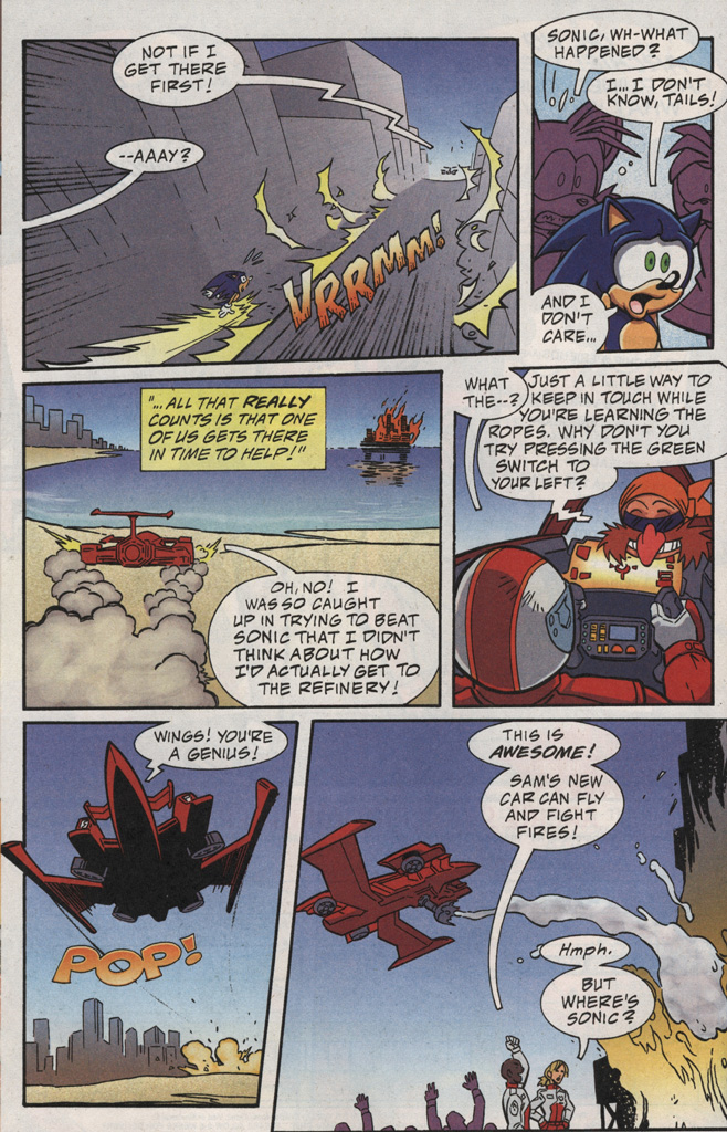 Read online Sonic X comic -  Issue #20 - 18