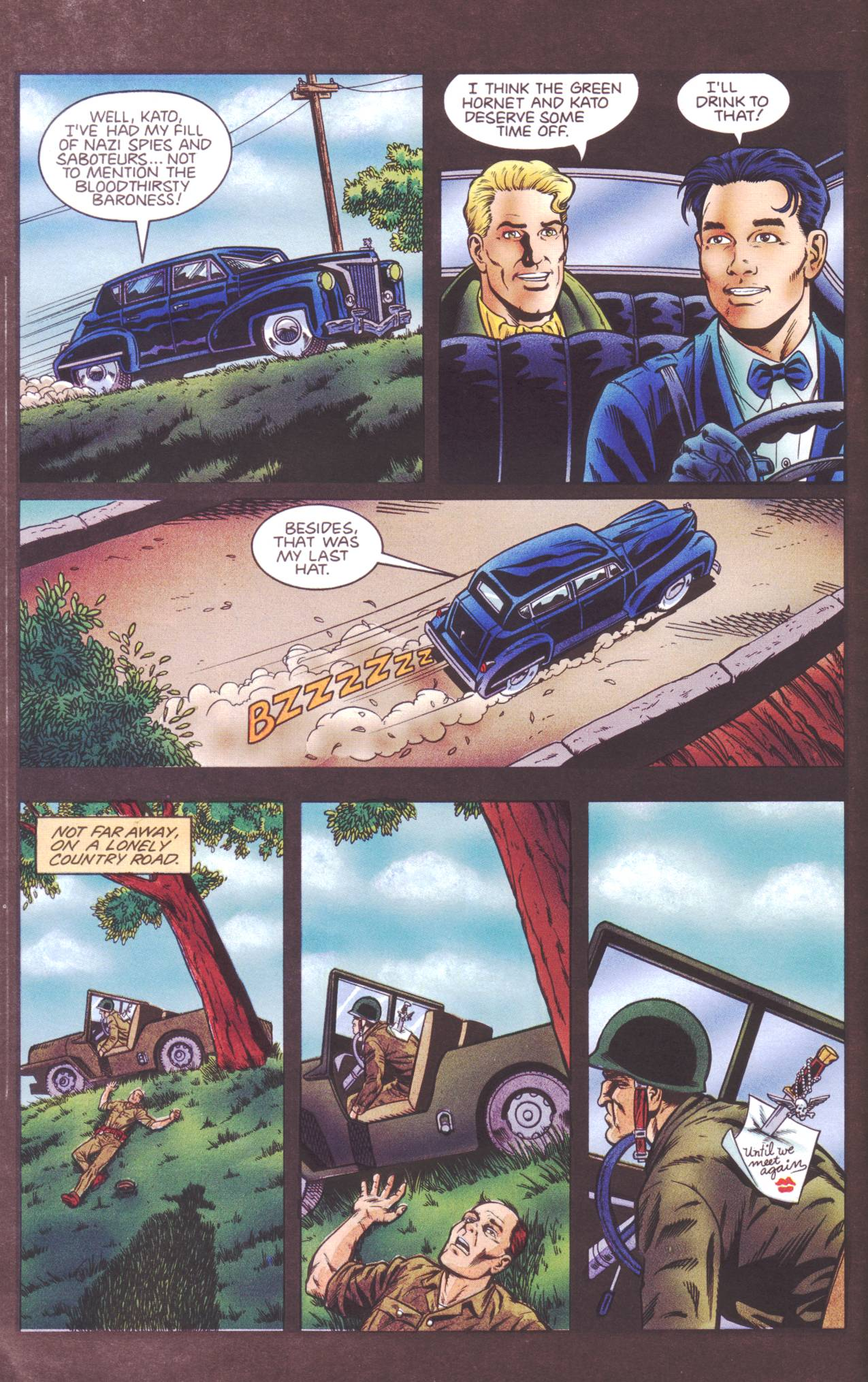 Read online Sting of The Green Hornet comic -  Issue #4 - 23