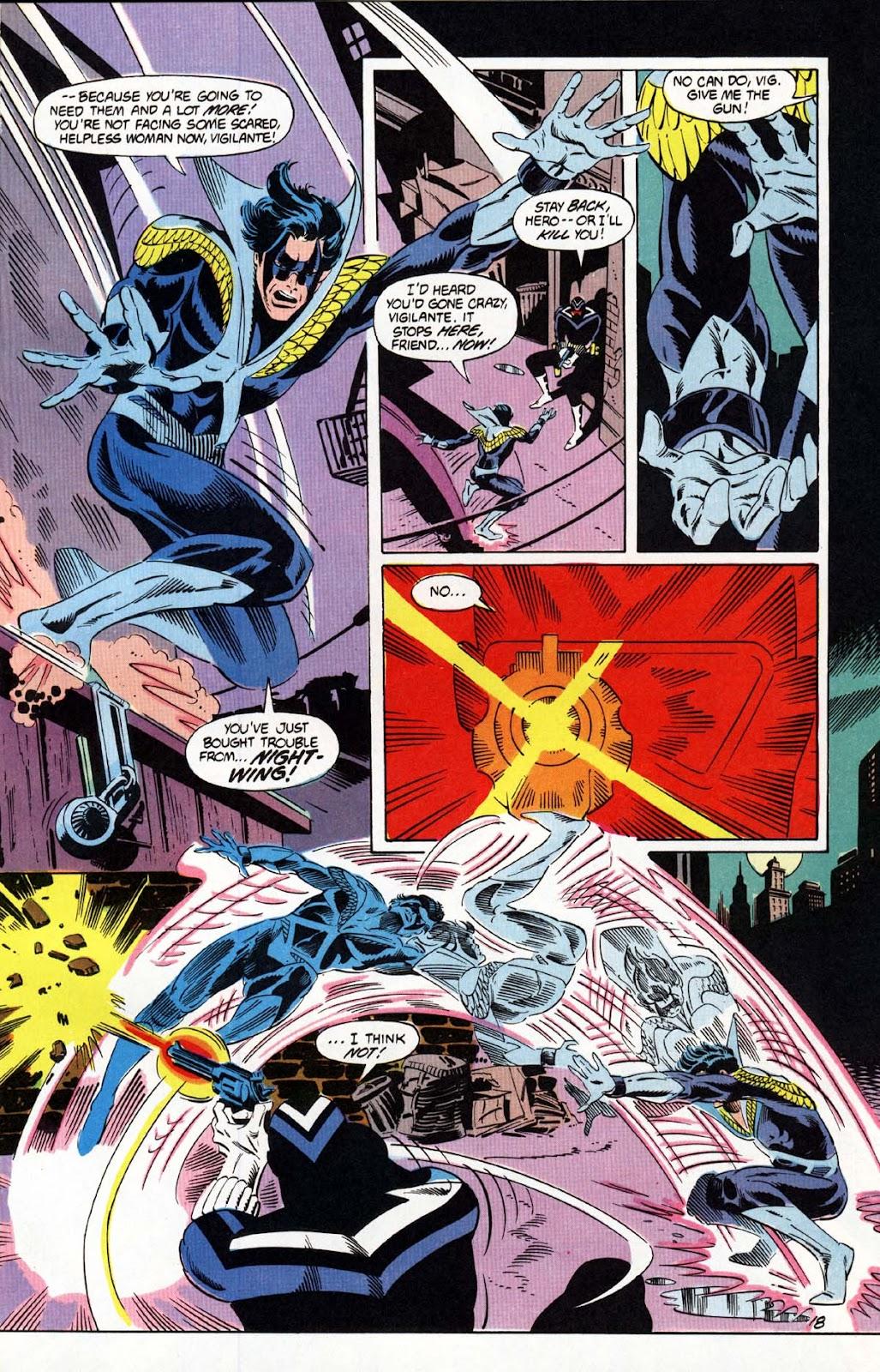Vigilante (1983) issue 20 - Page 19