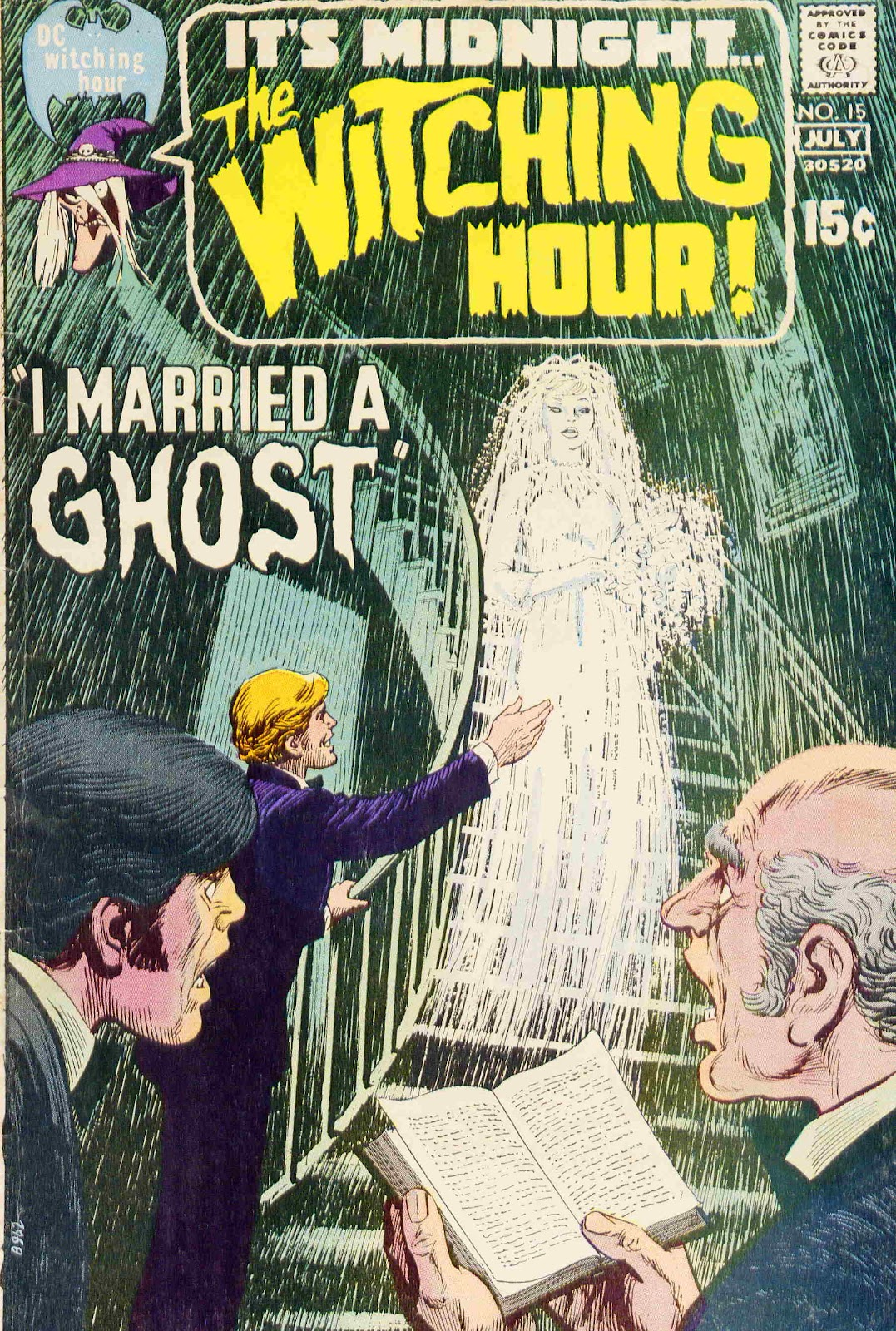 The Witching Hour (1969) issue 15 - Page 1