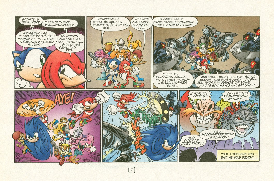 Read online Sonic Super Special comic -  Issue #12 - Sonic and Knuckles visa versa - 10