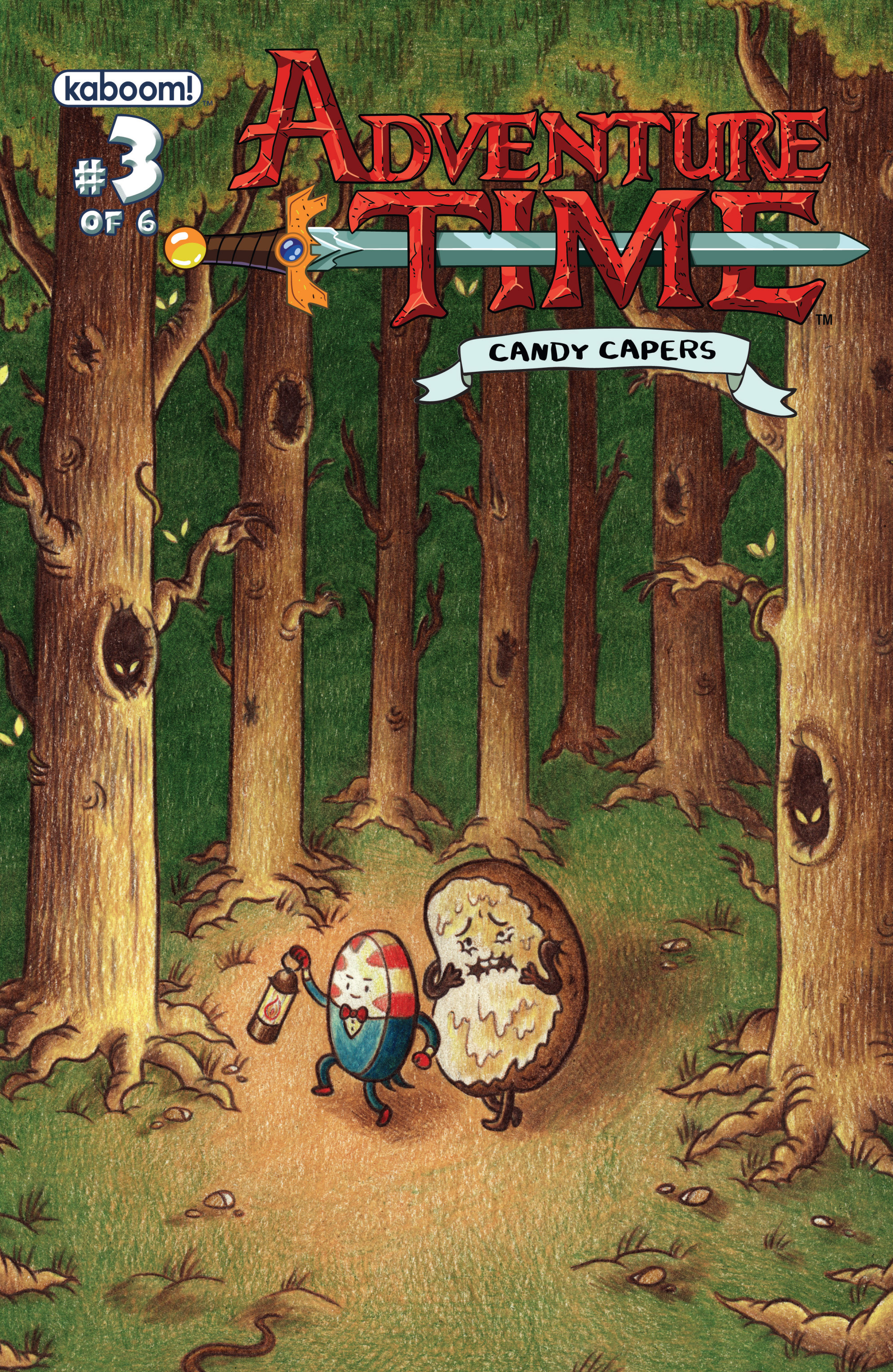 Read online Adventure Time: Candy Capers comic -  Issue #3 - 2