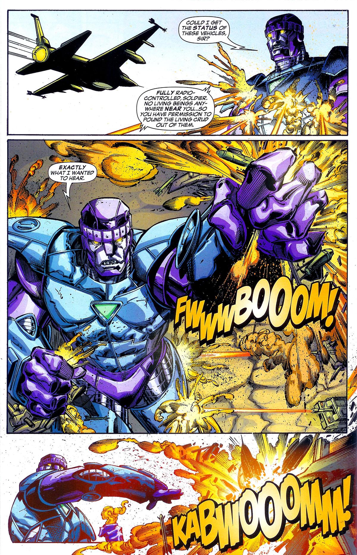 Read online Sentinel Squad O*N*E comic -  Issue #1 - 16