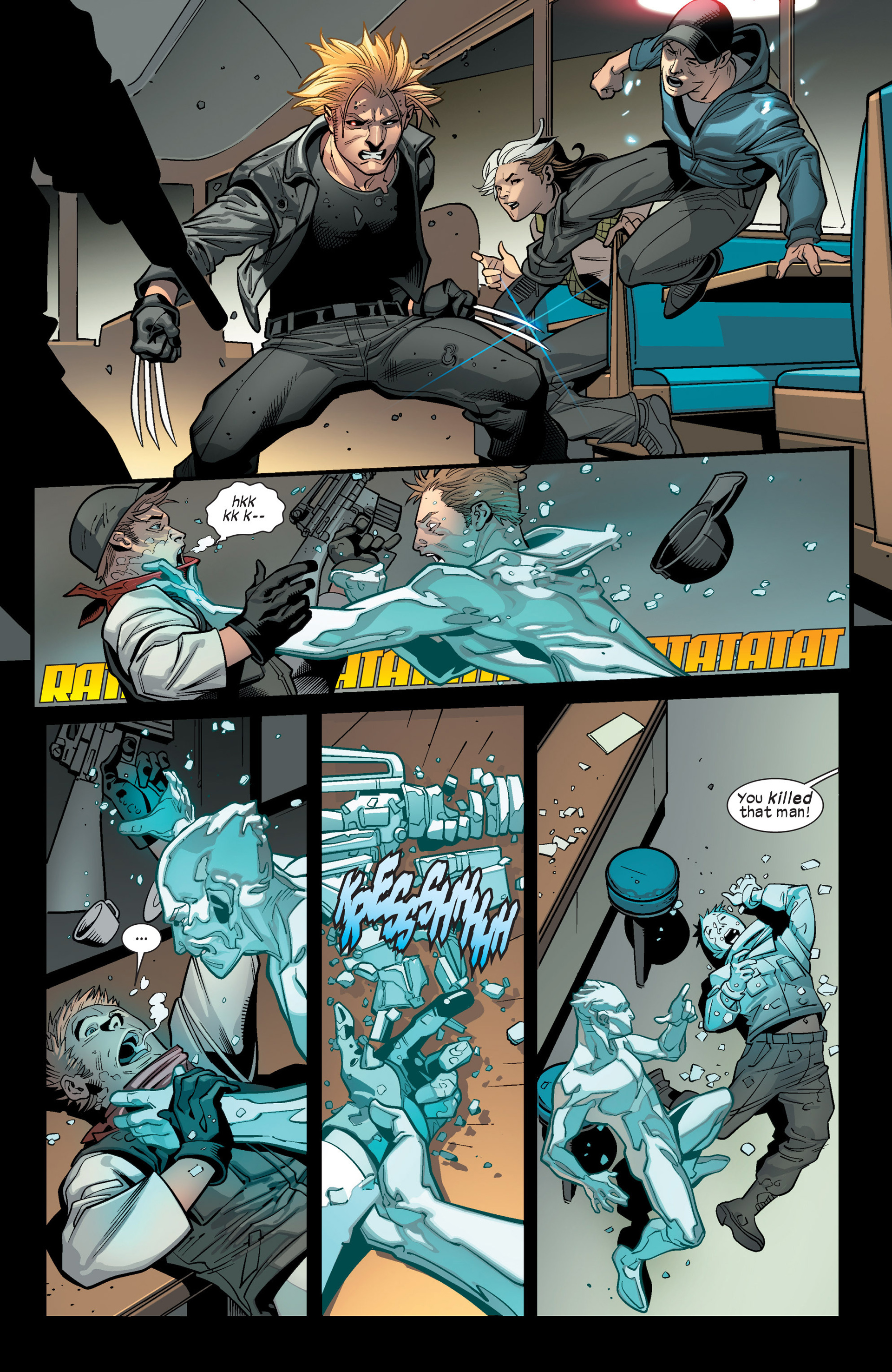 Read online Ultimate Comics X-Men comic -  Issue #15 - 7