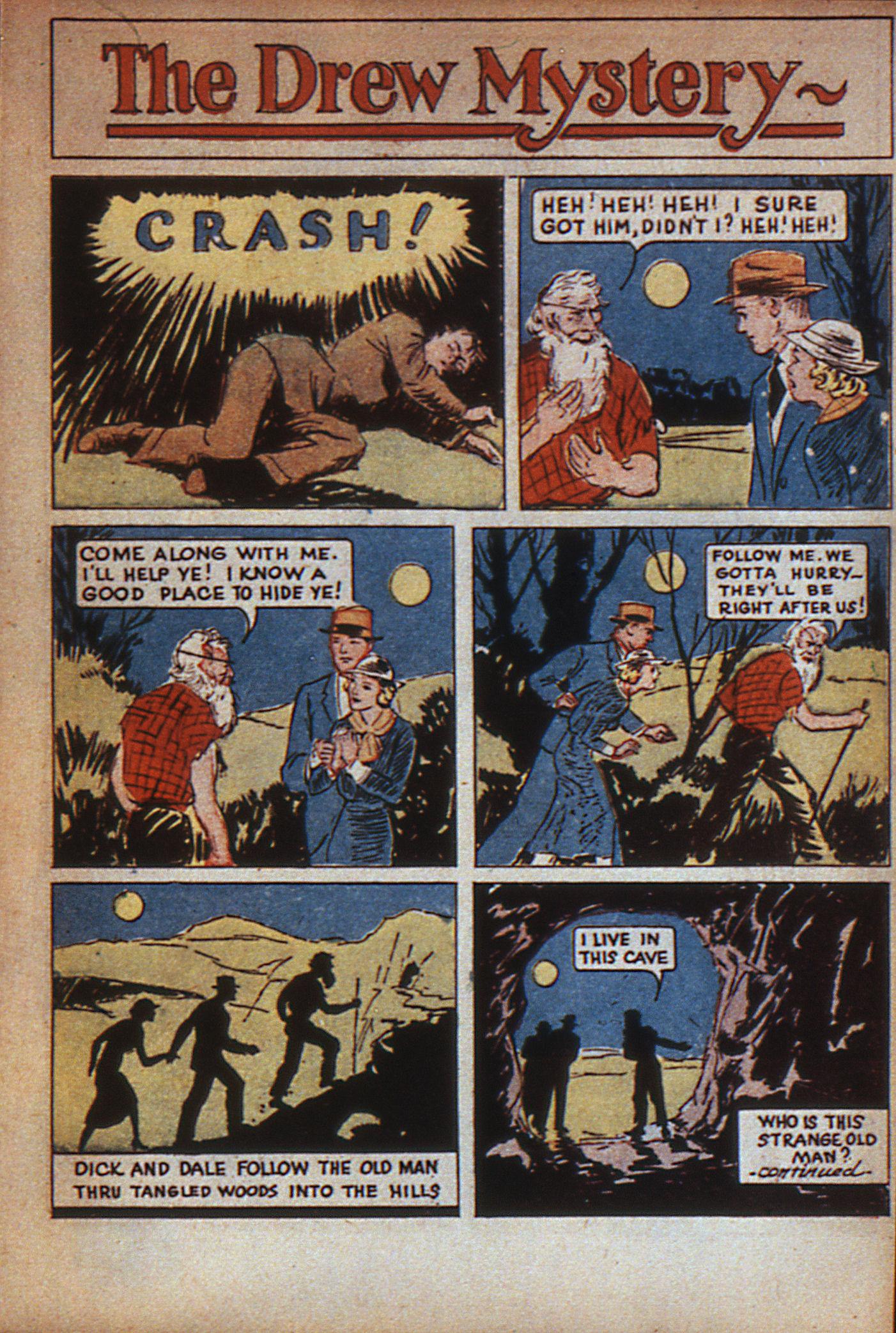 Read online Adventure Comics (1938) comic -  Issue #7 - 16