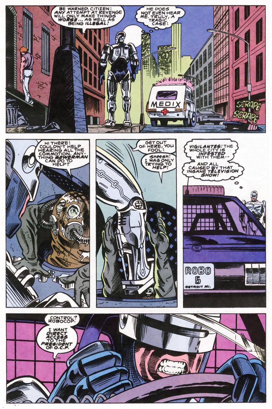 Read online Robocop (1990) comic -  Issue #10 - 4