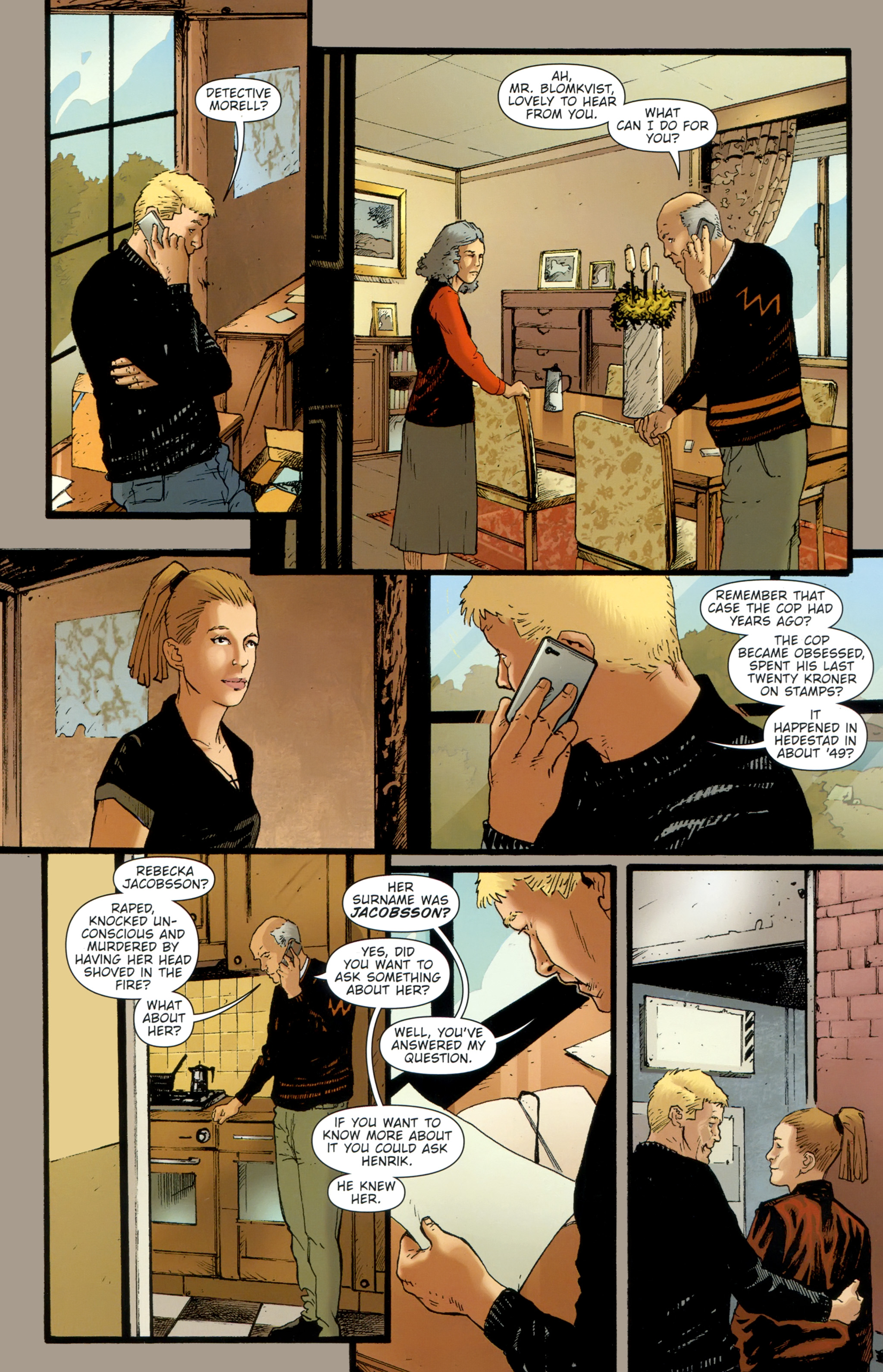 Read online The Girl With the Dragon Tattoo comic -  Issue # TPB 2 - 36