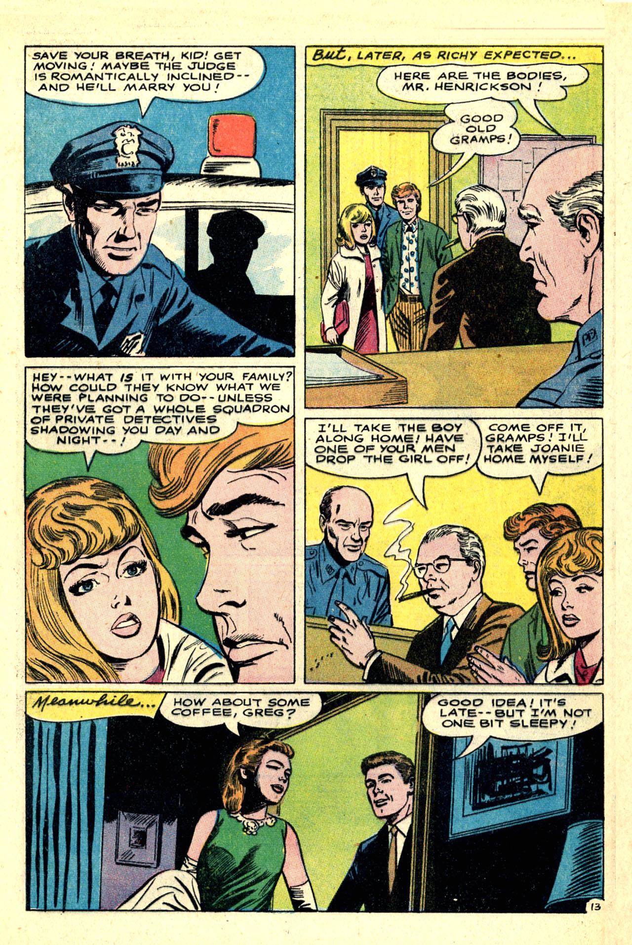Read online Secret Hearts comic -  Issue #121 - 32