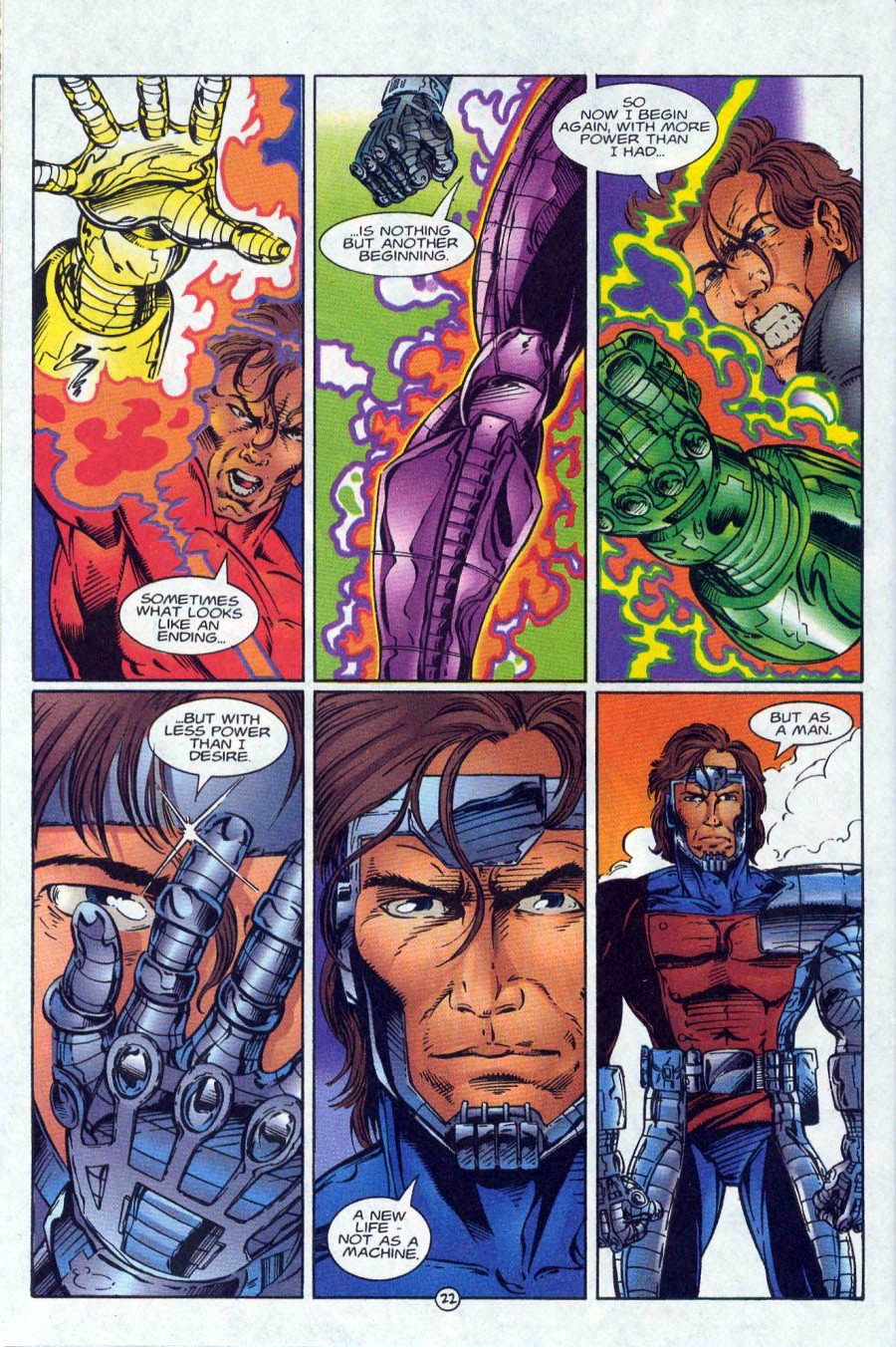 Read online Ex-Mutants comic -  Issue #18 - 22